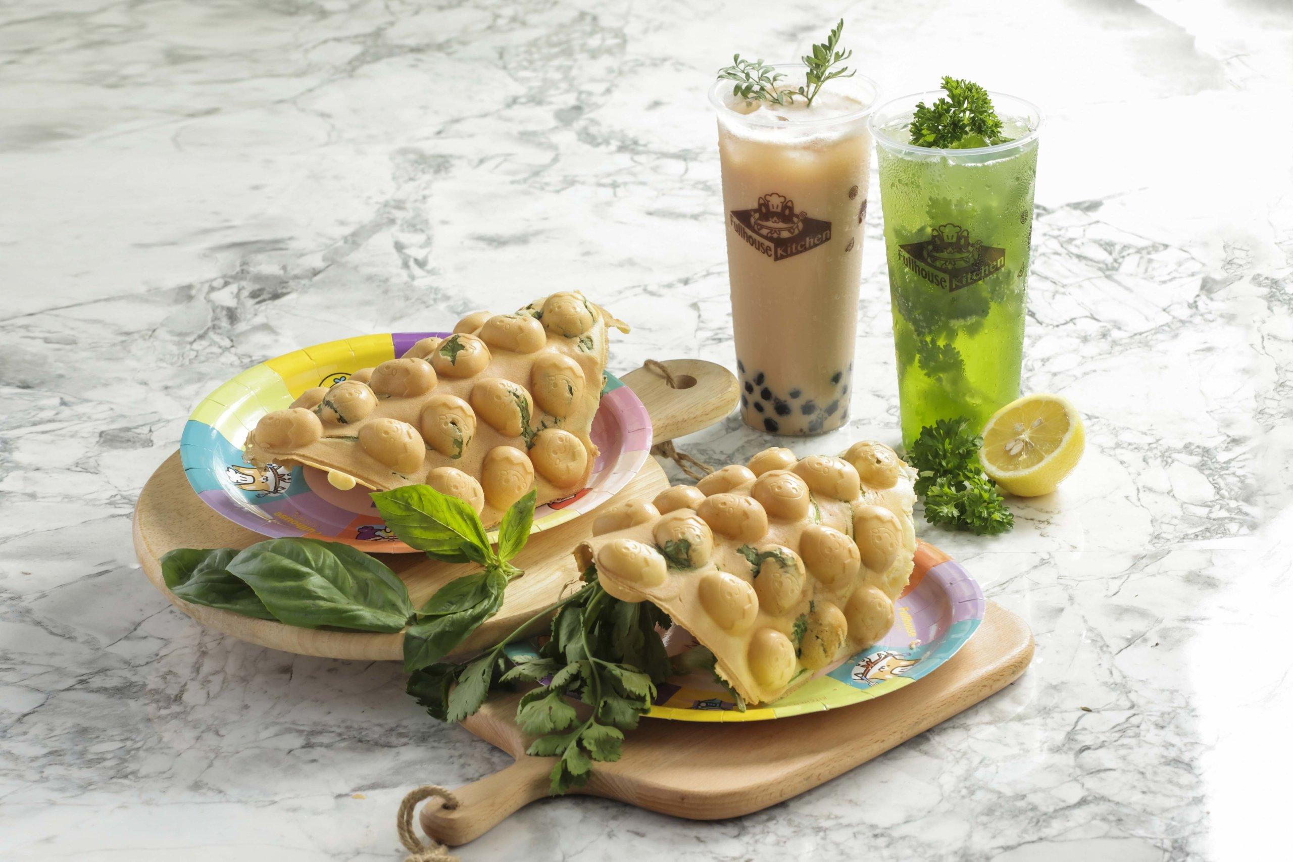 「滿紛廚房」在活動期間,將會免費派發香草特製飲品及小食。