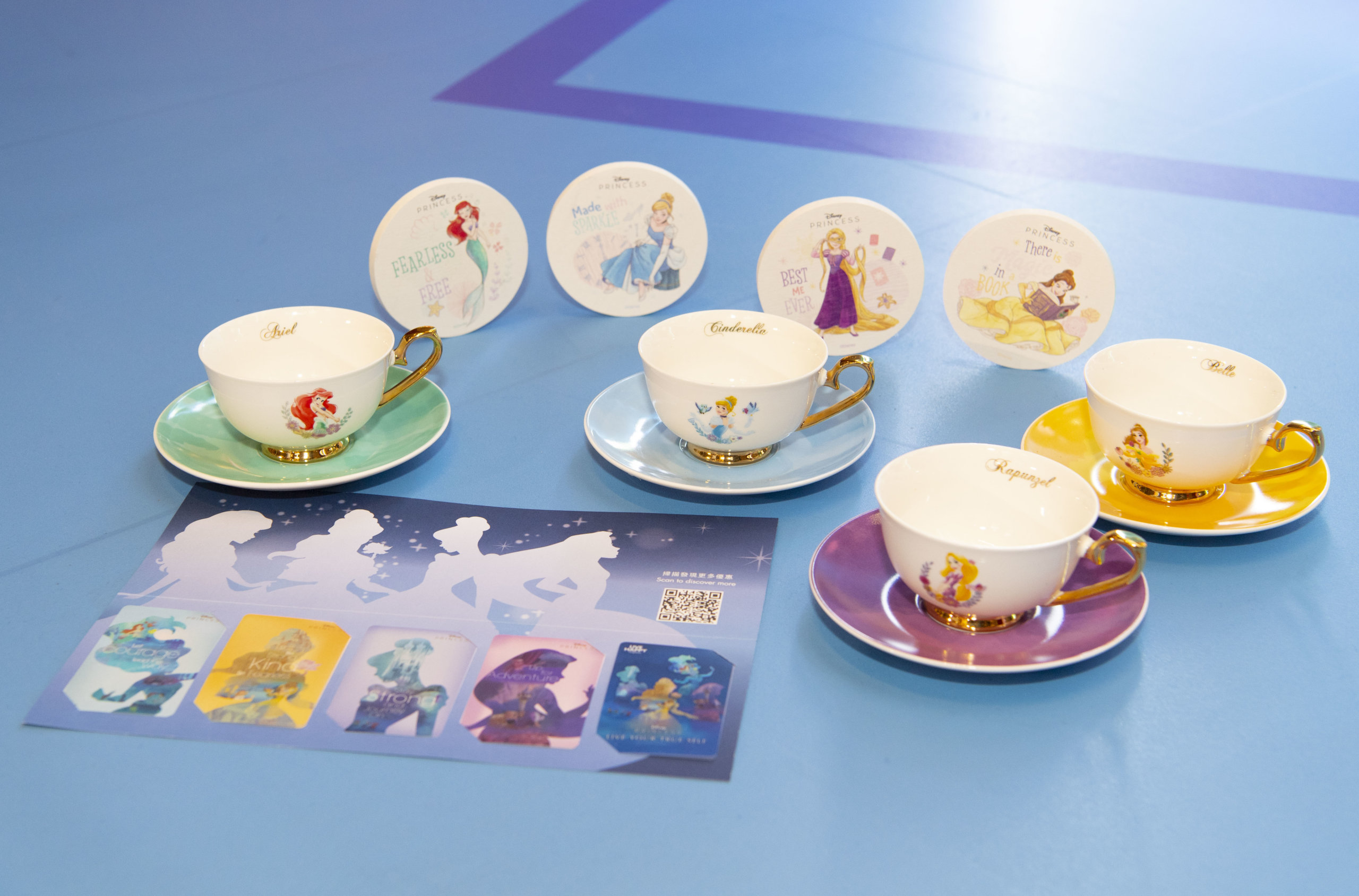 活動期間,可換領一系列的獨家迪士尼公主禮品、商戶禮券及特別版迪士尼公主珍藏卡!