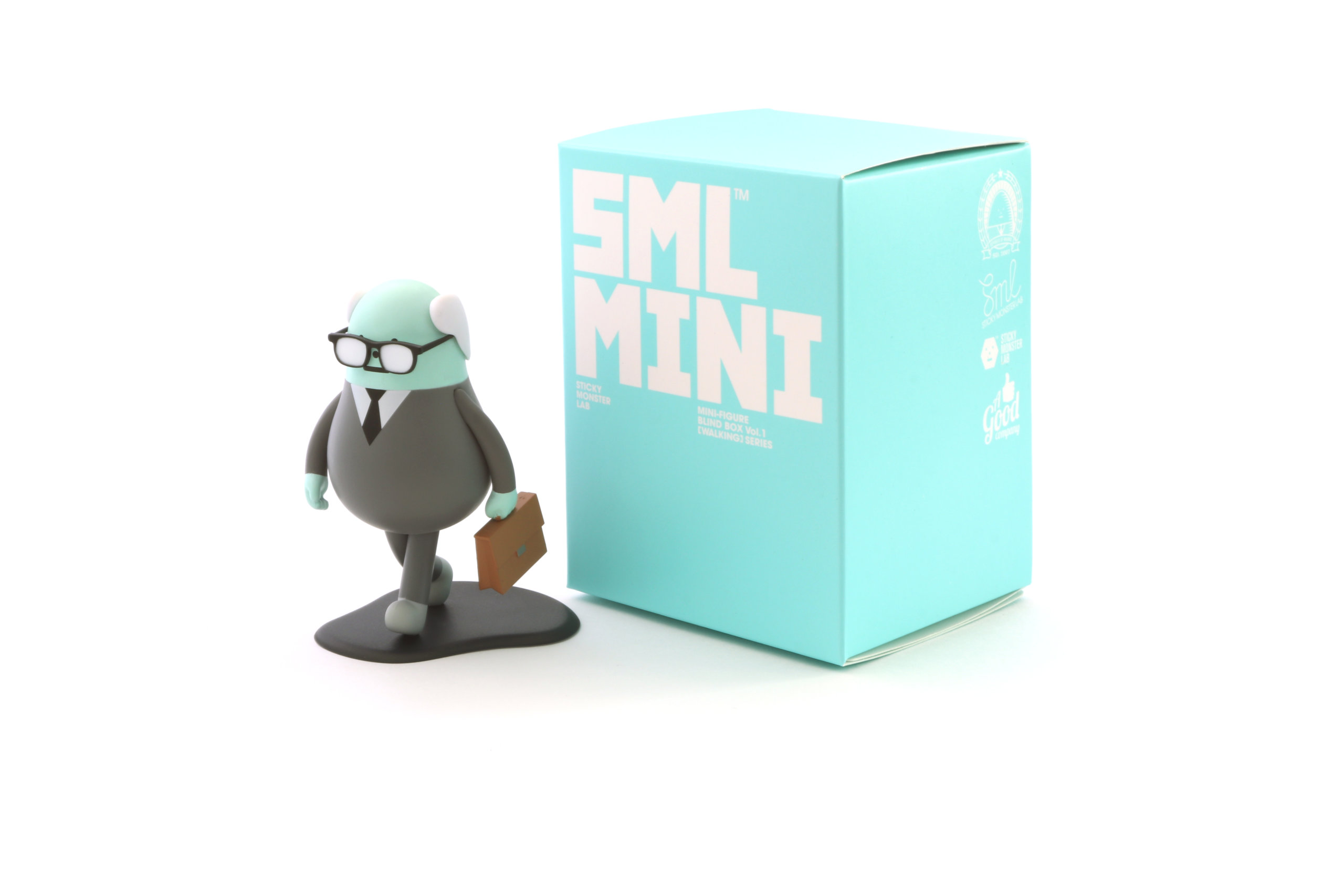 Fathermon為步步系列的隱藏版公仔!平均30盒只有1盒是它!