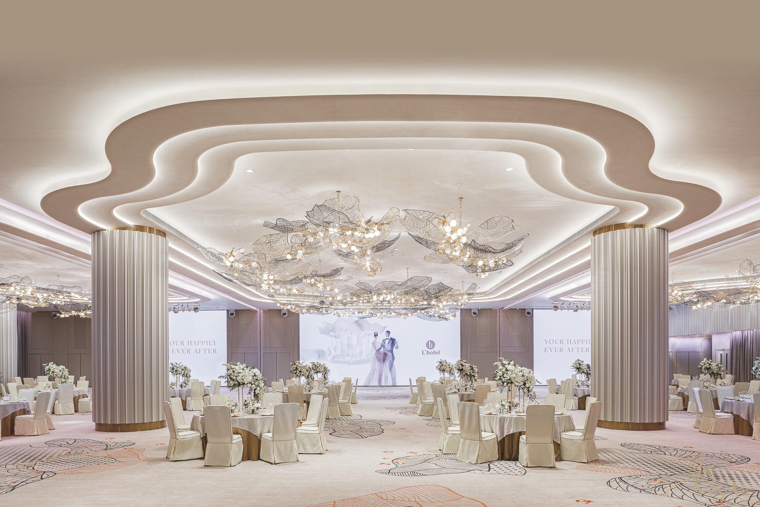 「綠色婚宴」主打摒棄傳統繁複的婚嫁習俗,致力打造時尚簡約婚禮為主。