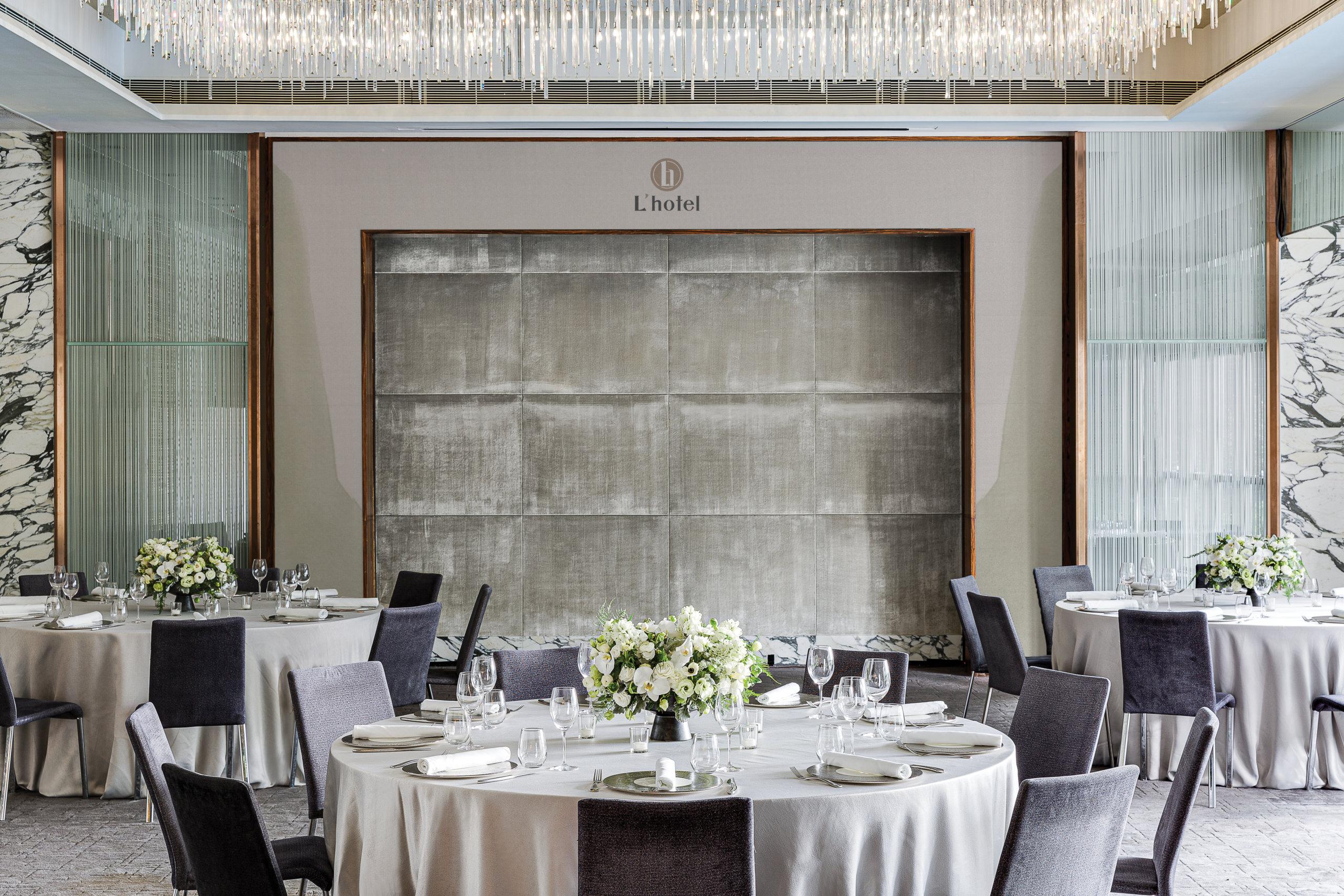 除了環境設計,在菜譜方面都引入低碳之選,如素食婚宴。
