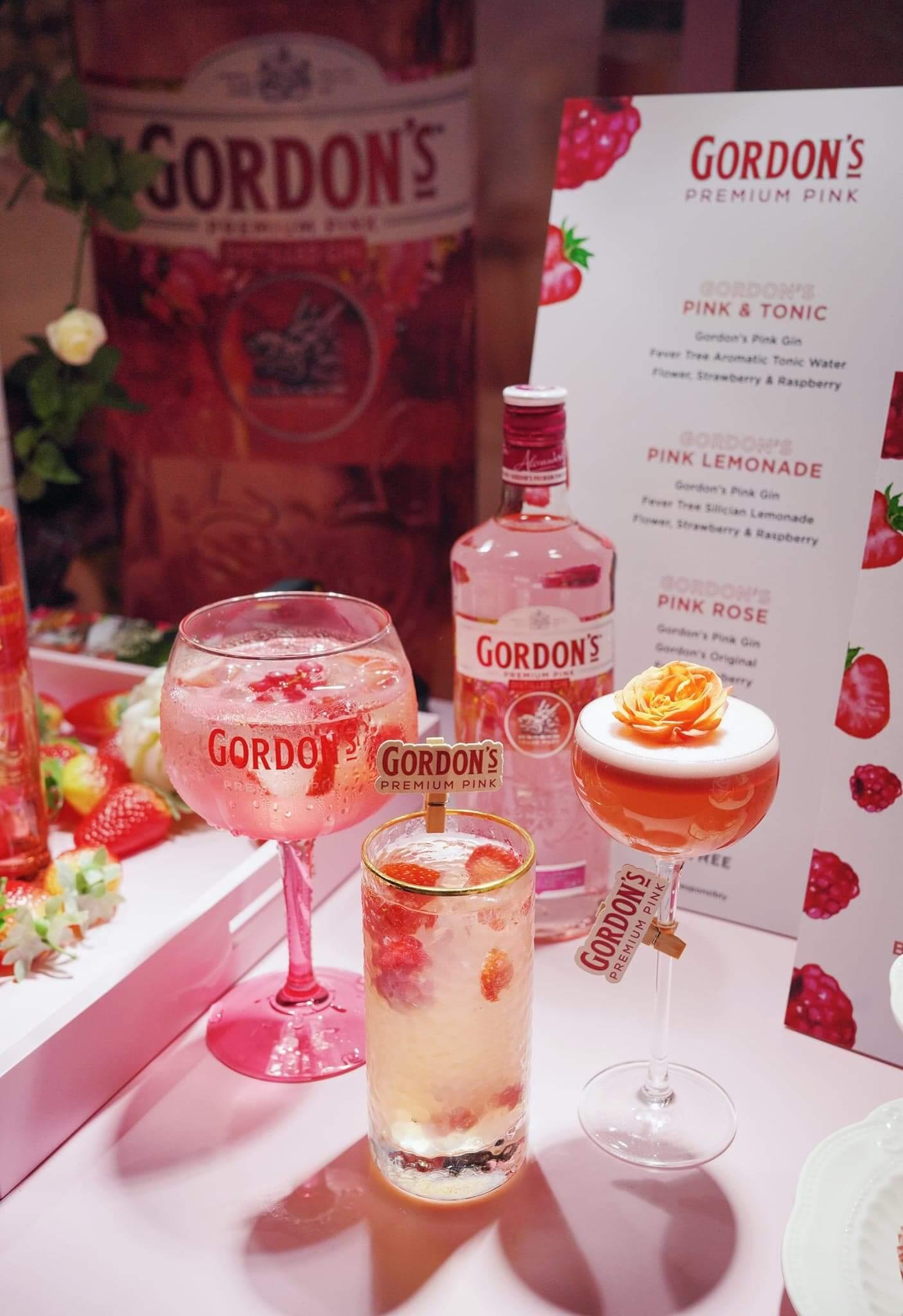 Blush由即日起推出三款Gordon's Pink雞尾酒。