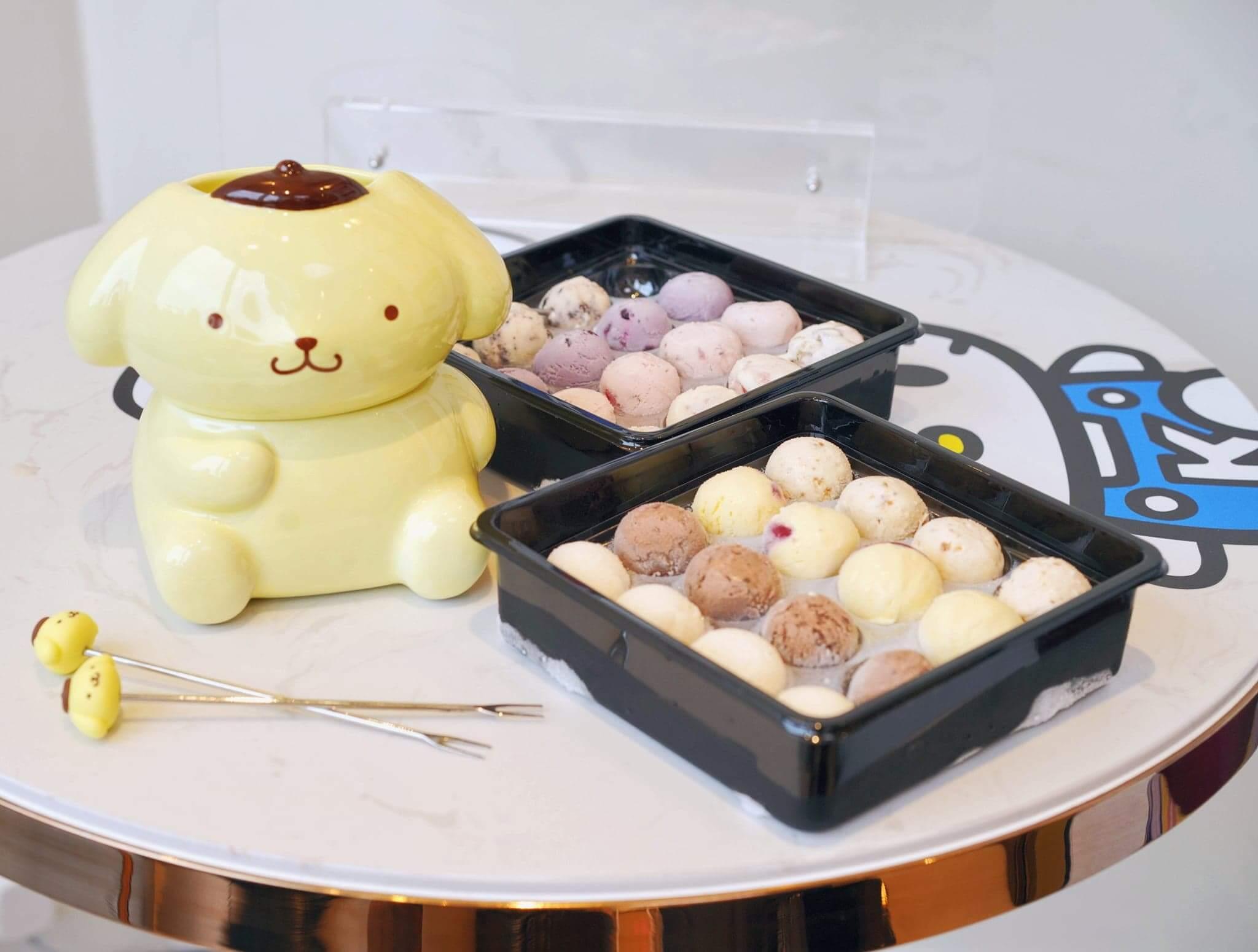 Pompompurin雪糕火鍋 HK$529/套