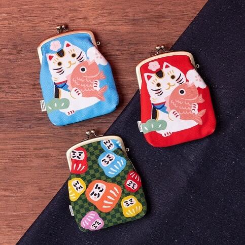 Ayanokoji彩繪口金包系列HK$168-$230