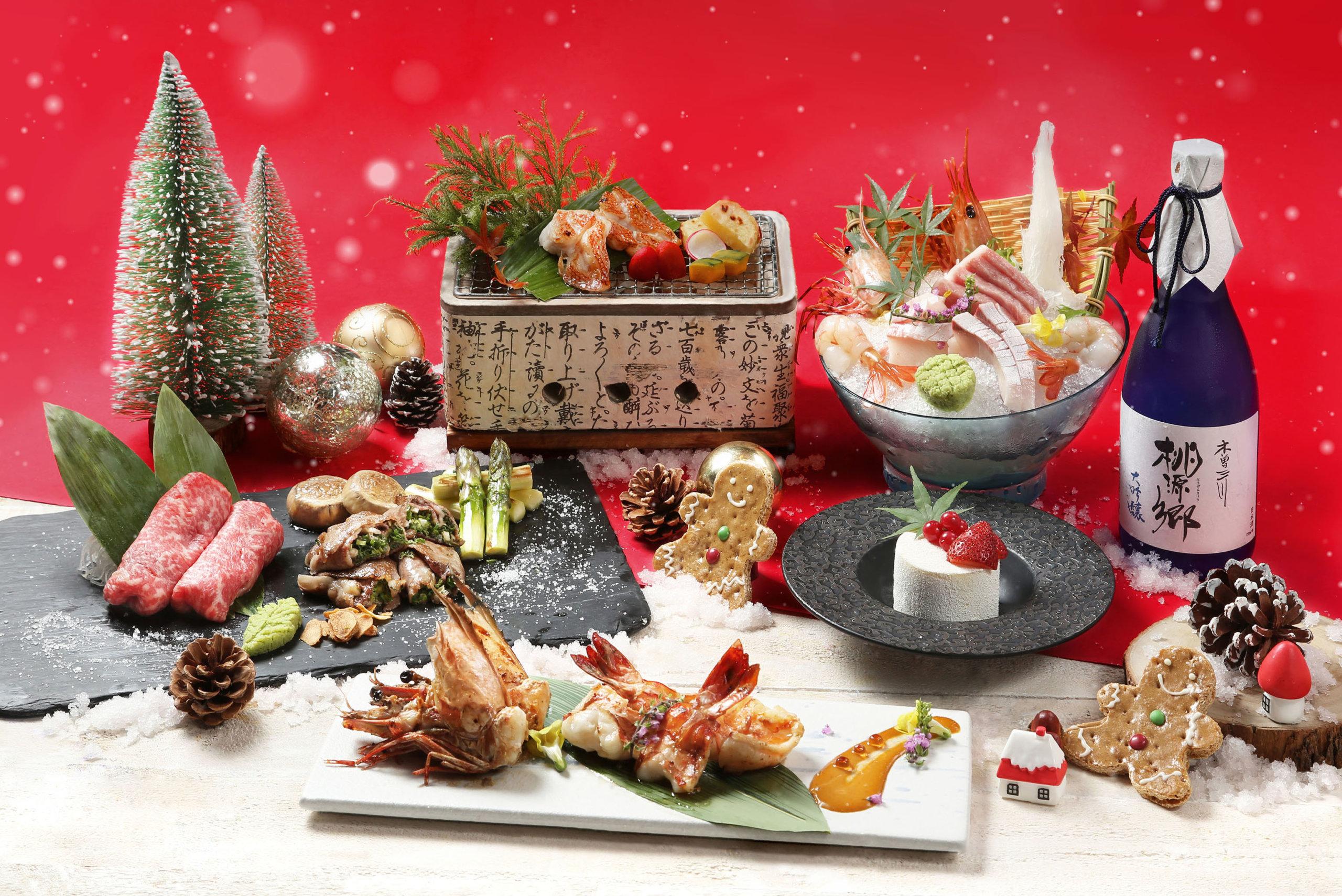 聖誕節即將來臨,帝都酒店的櫻田日本餐廳將推出聖誕鐵板燒御膳,讓大家充分體驗味蕾享受。
