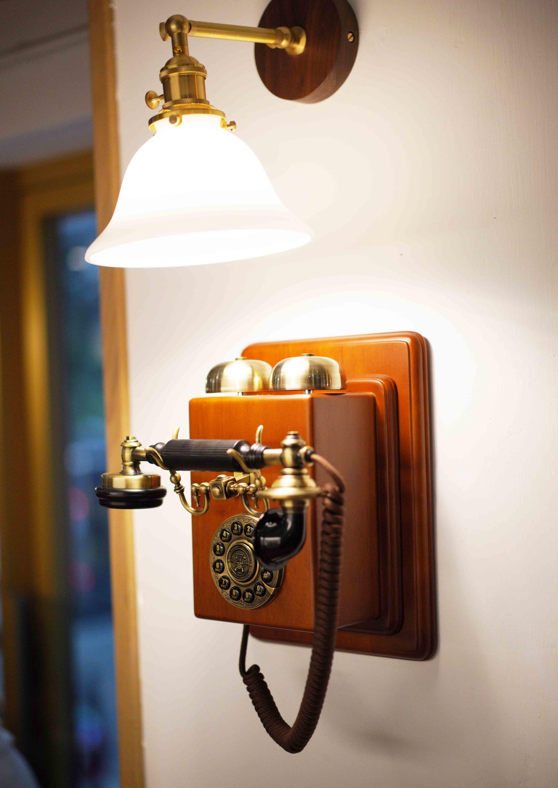 掛牆電話,好有風味!