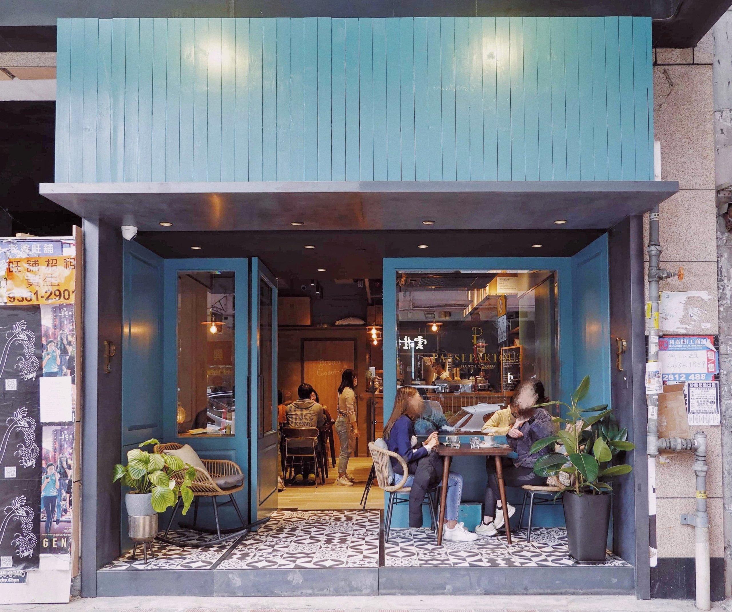 位於駱克道嘅Passepartout Brunch and Coffee,設計型格,又係一個銅鑼灣嘅好Hea處。