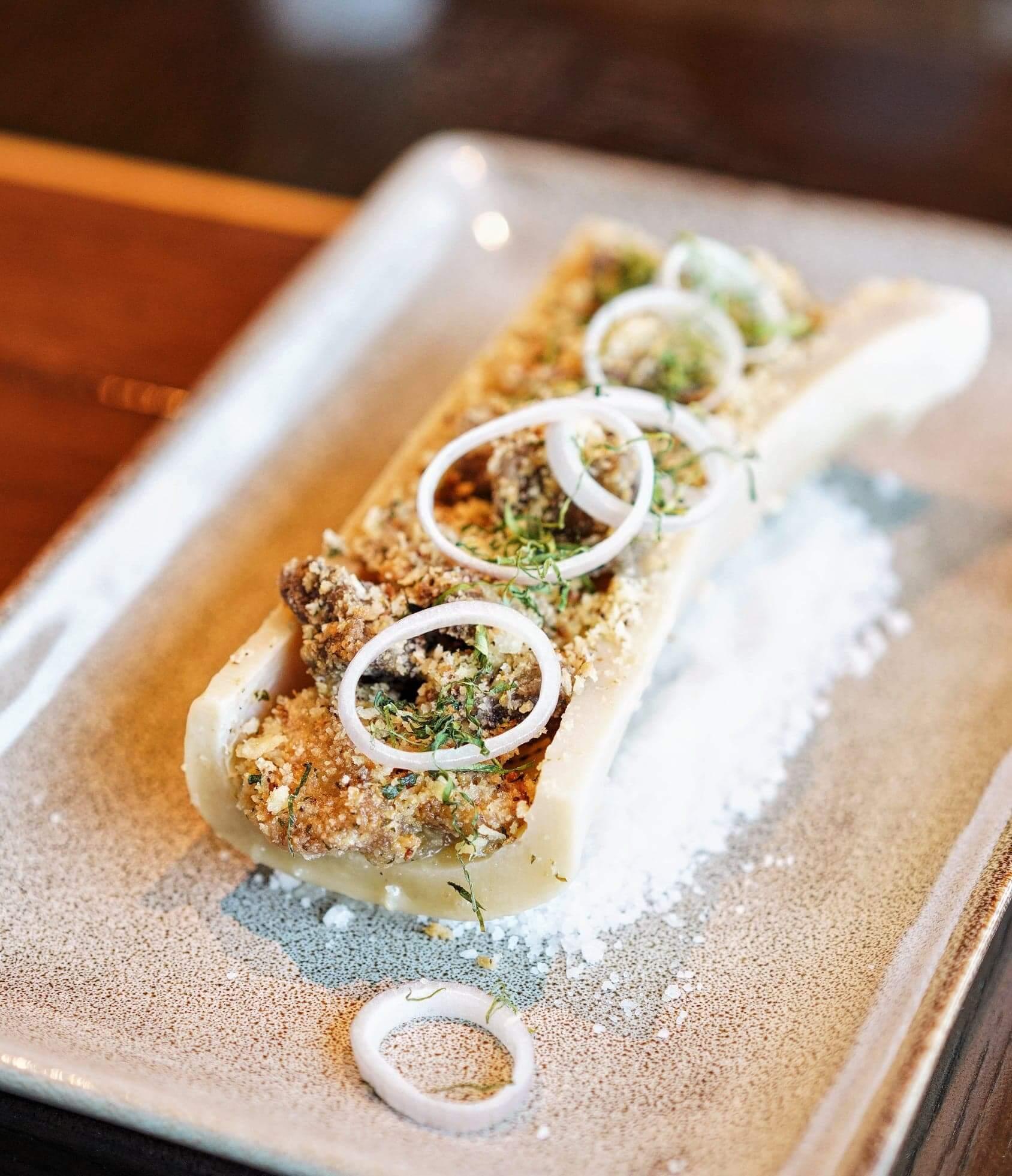 意式Gremolata及香芹沙律,作為前菜非常醒胃。