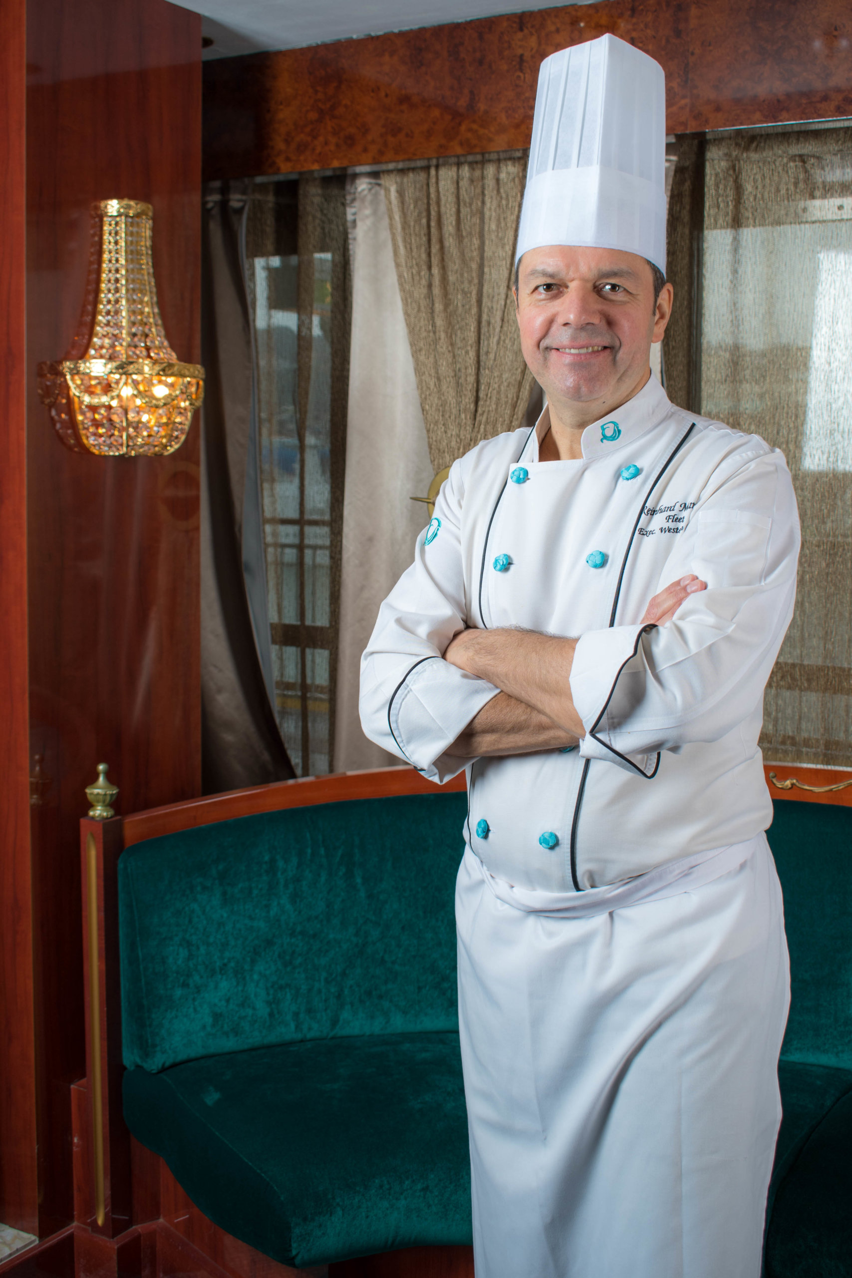 星夢郵輪行政總廚Chef Reinhard Mammes。