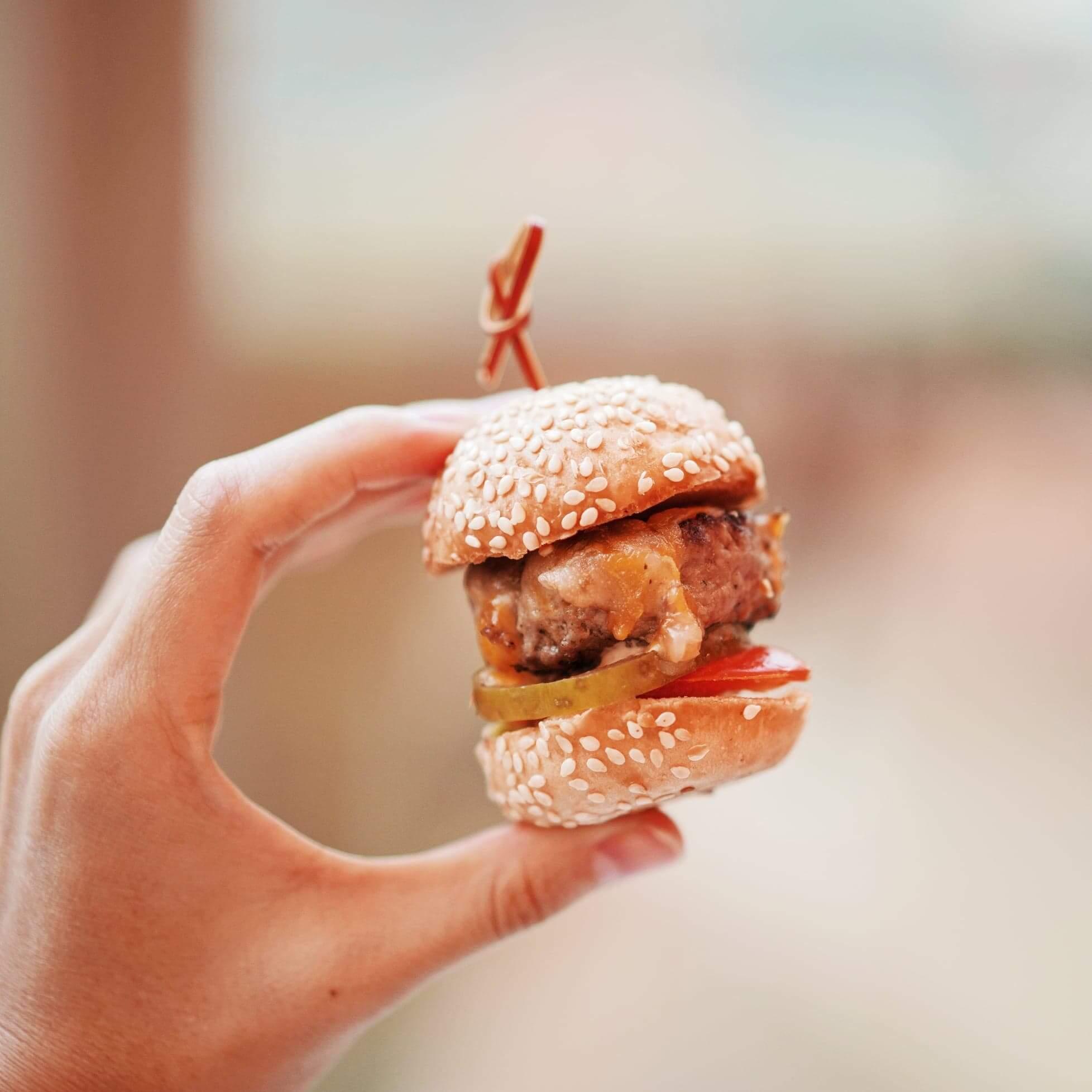 迷你松露牛肉芝士漢堡