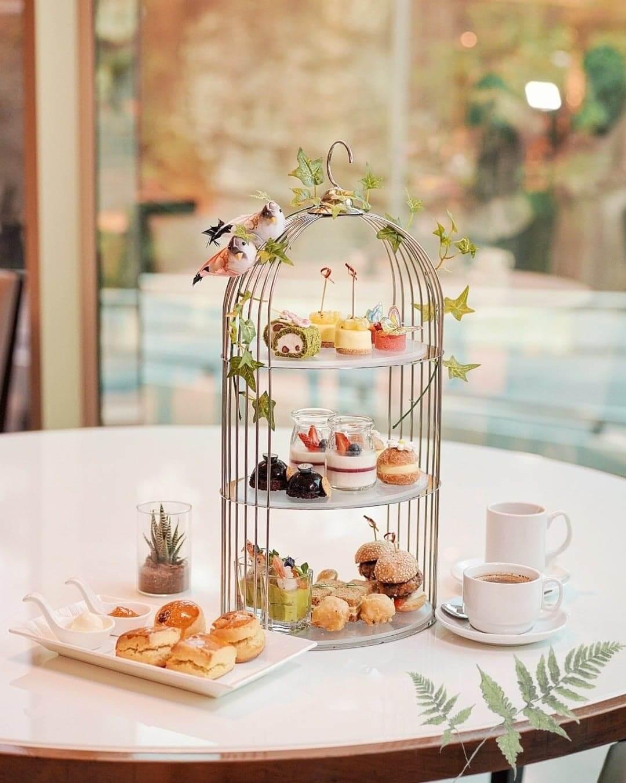 皇家太平洋酒店柏景餐廳「悠然下午茶」。