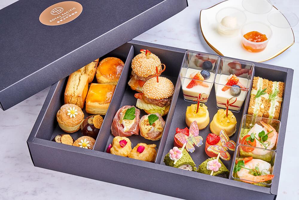 皇家太平洋酒店柏景餐廳推出「悠然下午茶」外賣版。