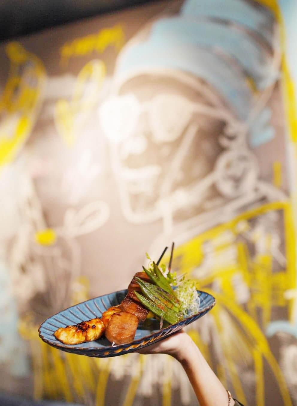 餐廳仲提供一系列亞洲小食。