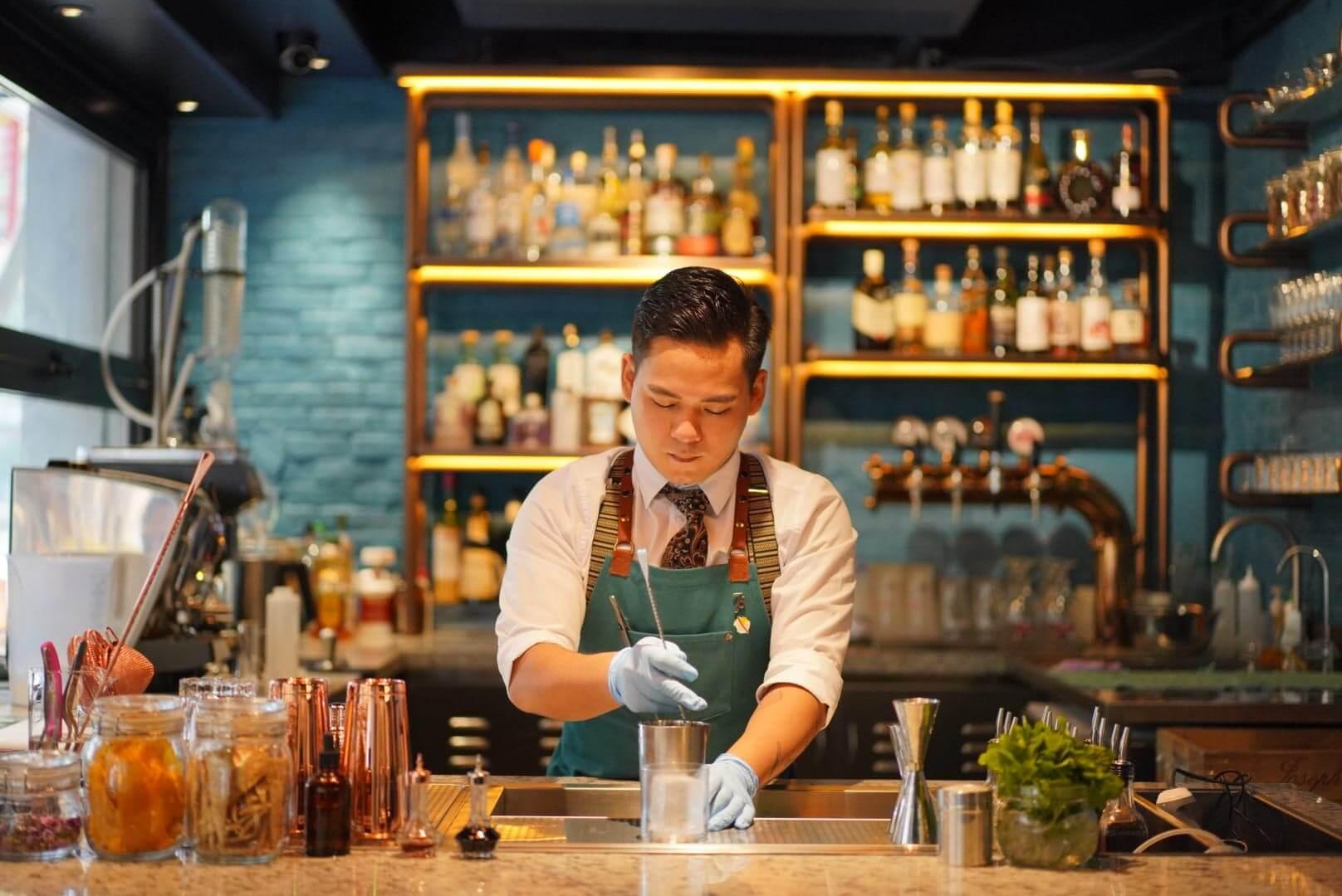 店內精選8款Cocktail,加入名畫元素,充滿藝術氛圍!
