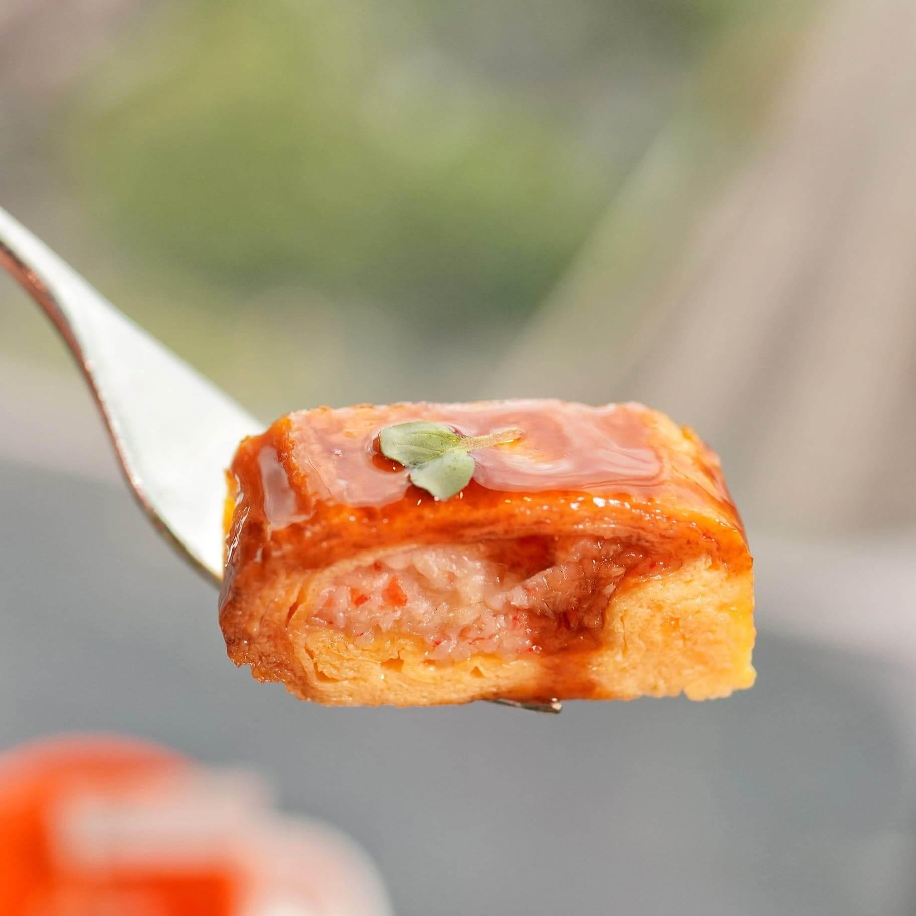松葉蟹肉玉子卷