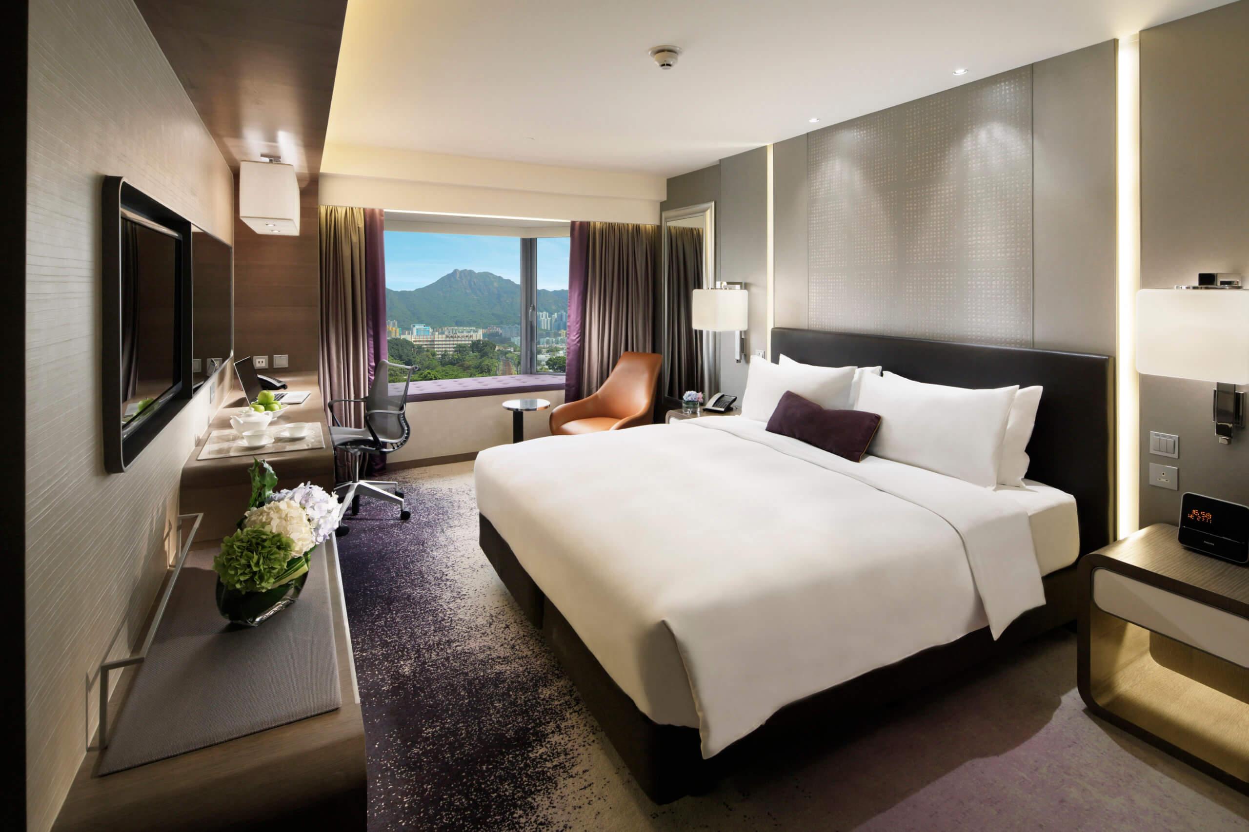 帝京酒店豪華客房。