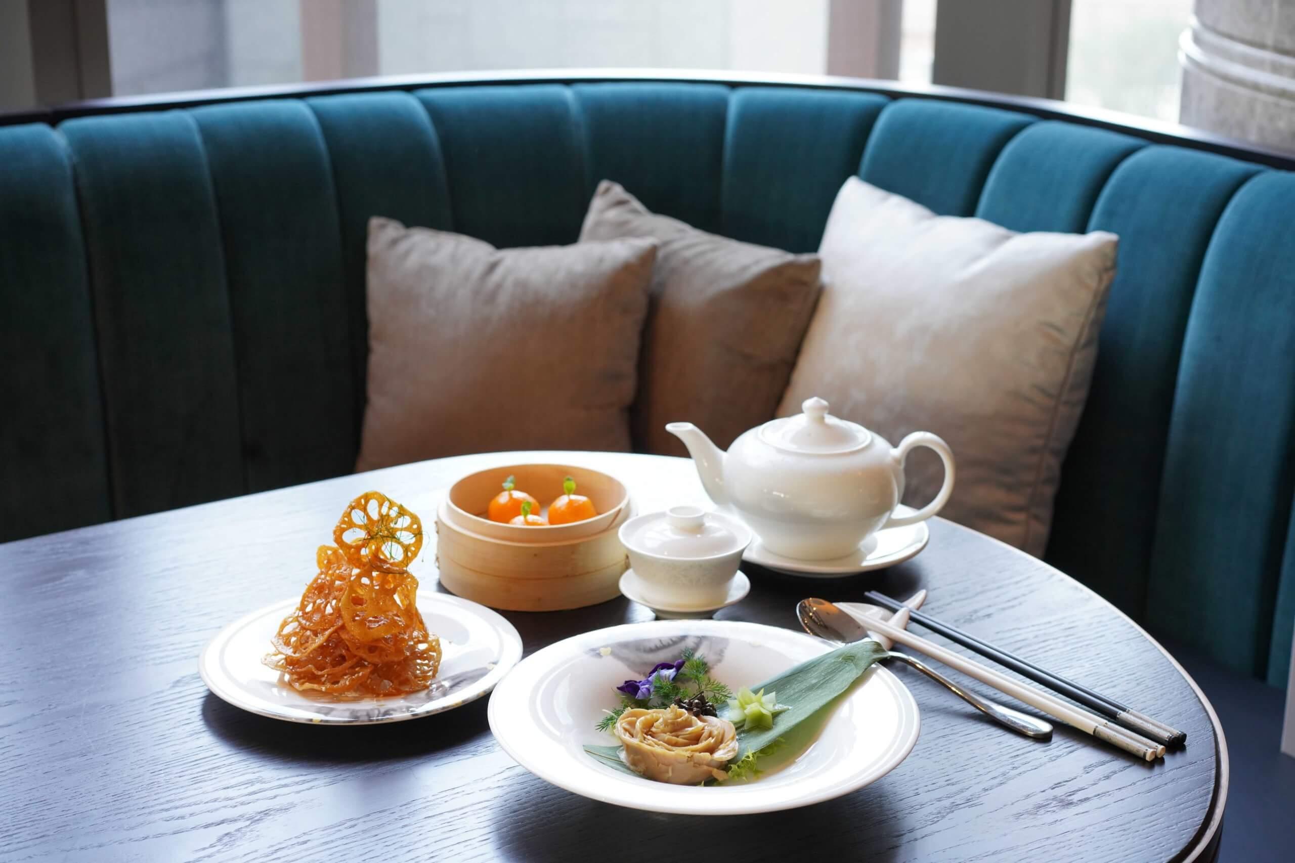 采悅軒一系列精緻粵菜。