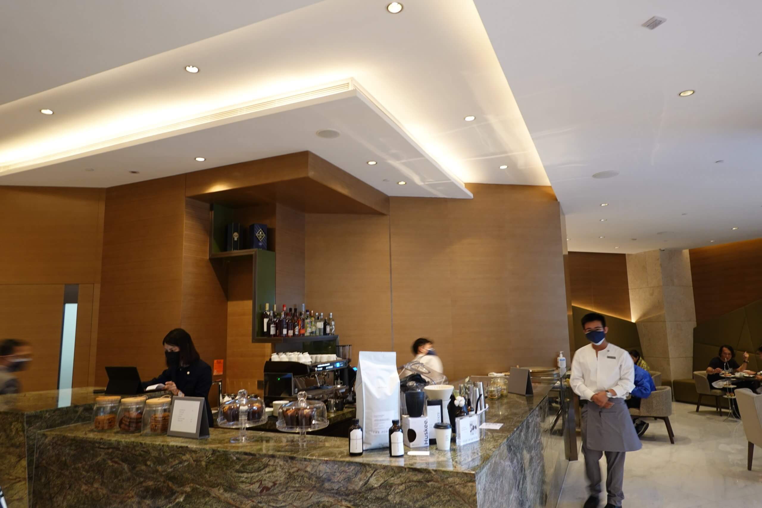 Lobby Lounge提供下午茶及啡茶。