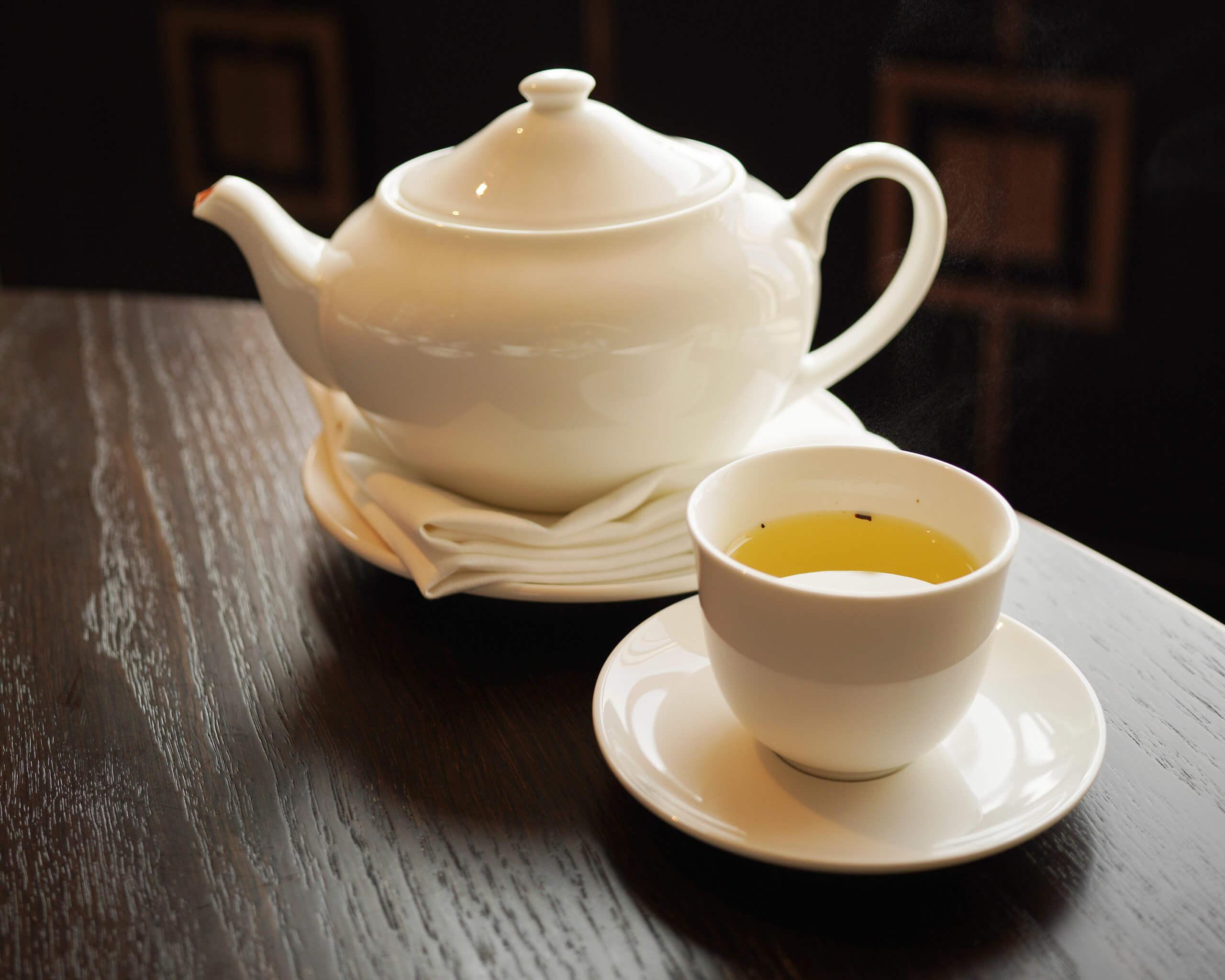 酒店自家調製嘅悅茶,口感獨特。