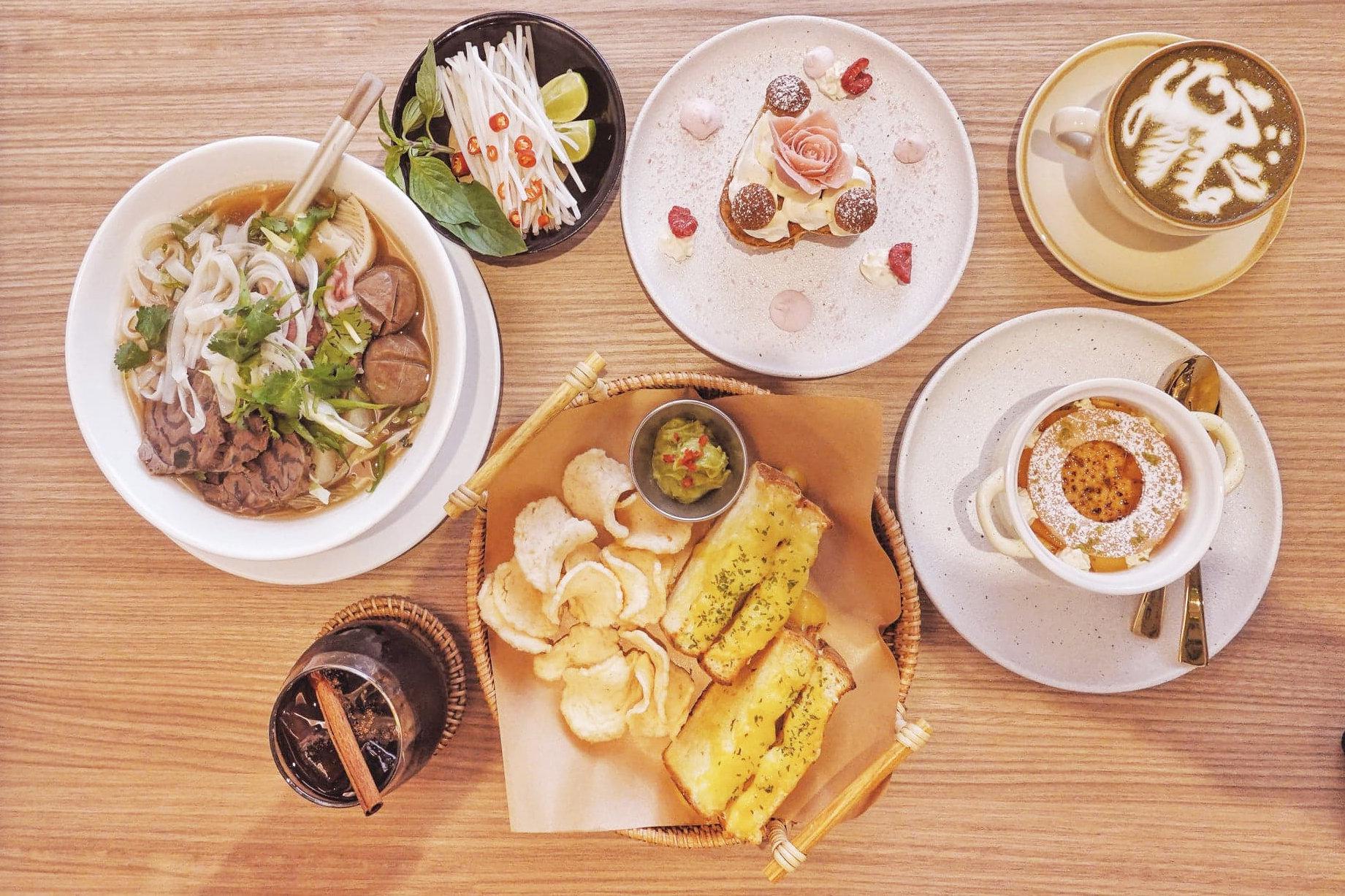 越法美食,東南亞味重,而又不失優雅。