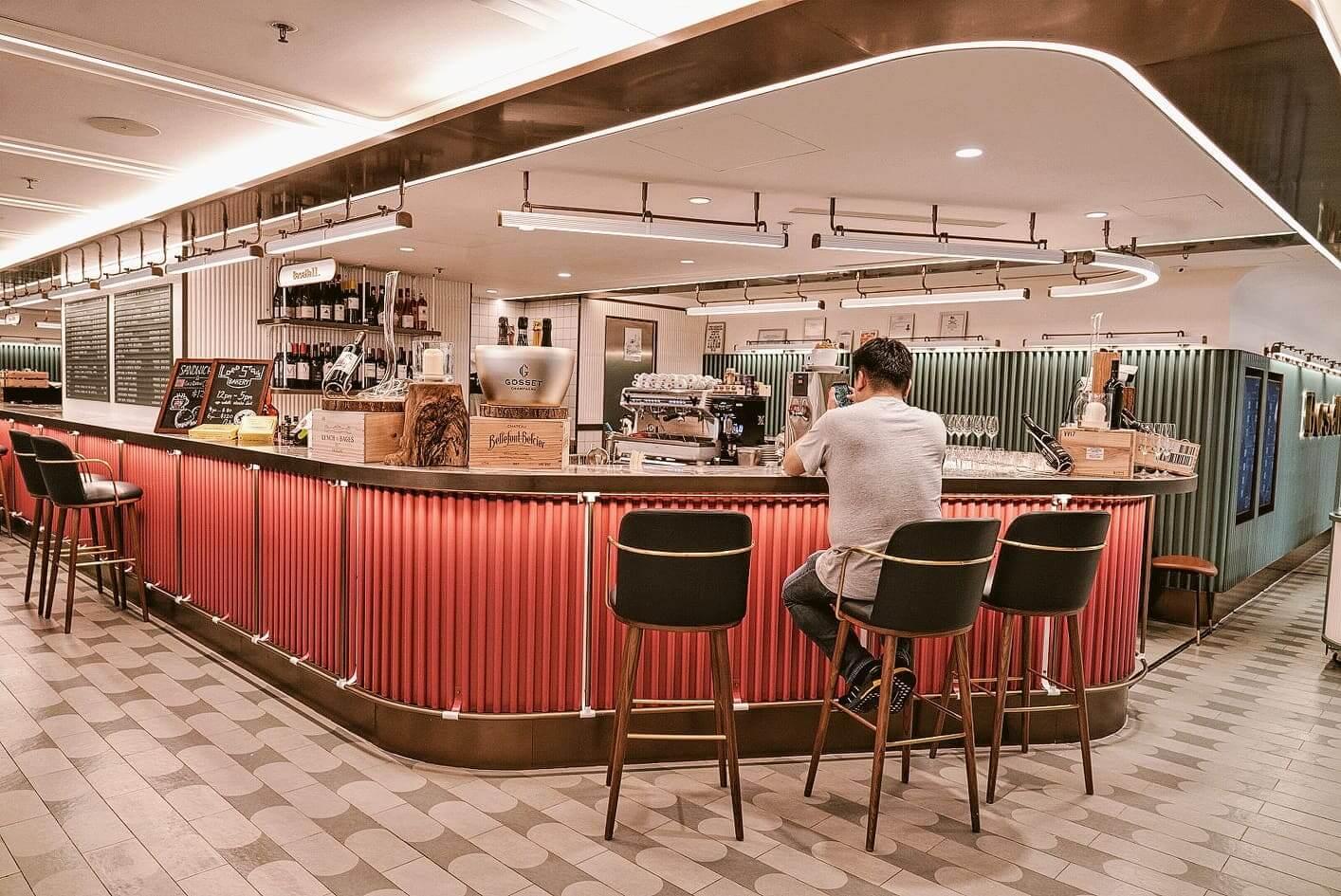精緻酒廊WineHouse by BaseHall Bar。