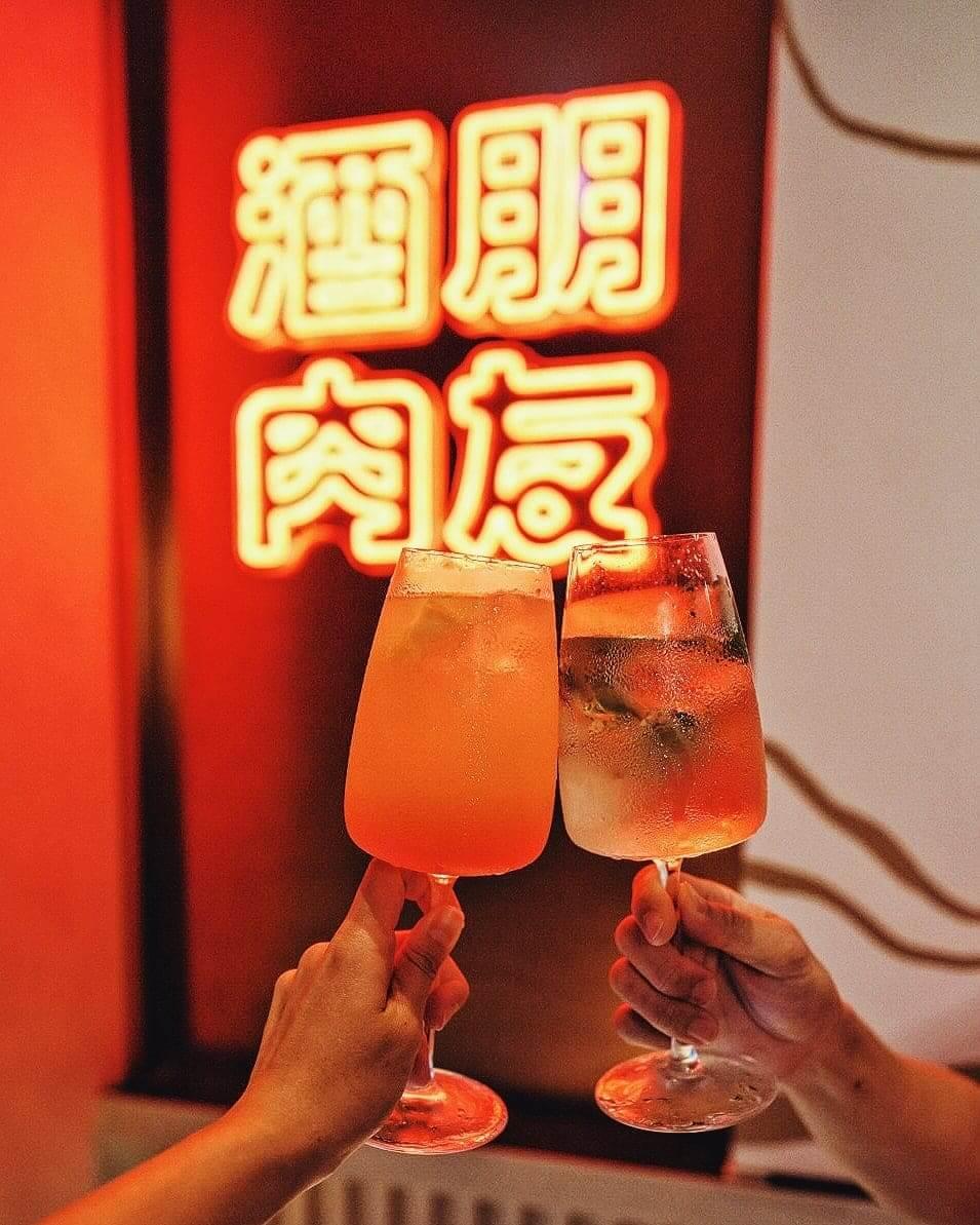 以橙及檸檬調製清新Cocktail!