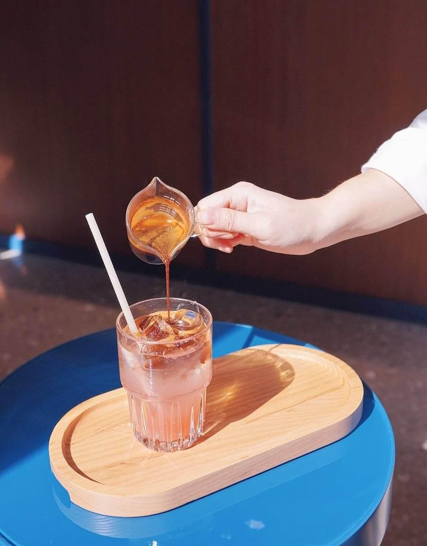 加上西柚汁嘅coffee toner,好清新消暑!