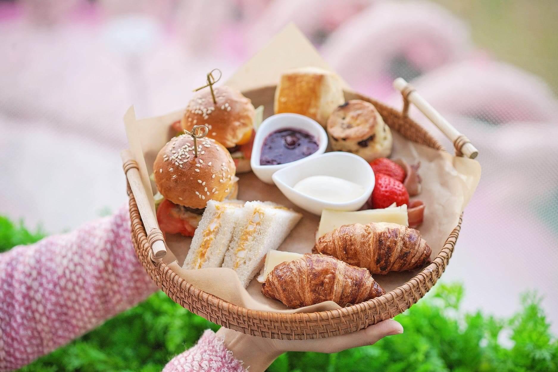 甜品固然吸引,多款鹹點亦不容錯過!