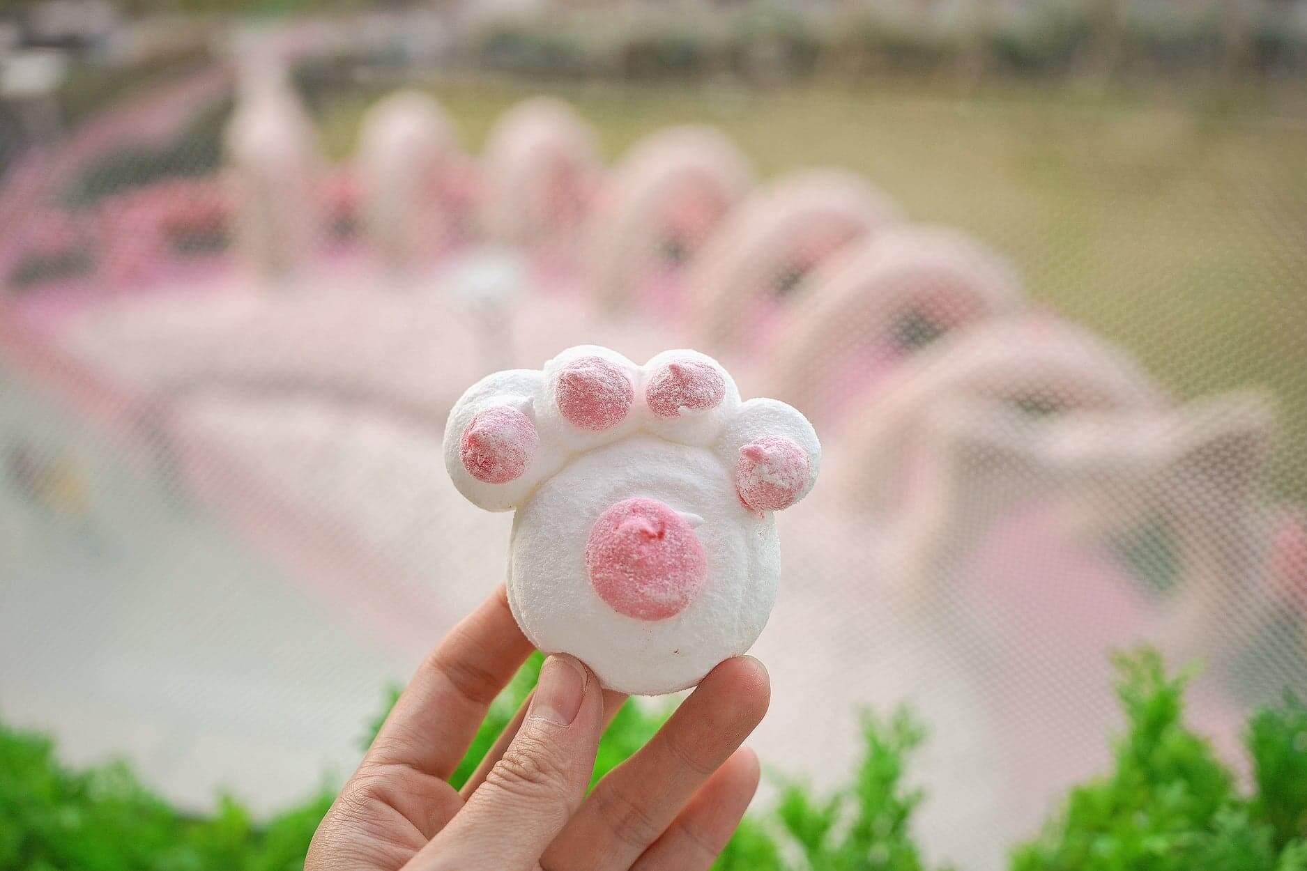 博多甜王貓印綿花糖