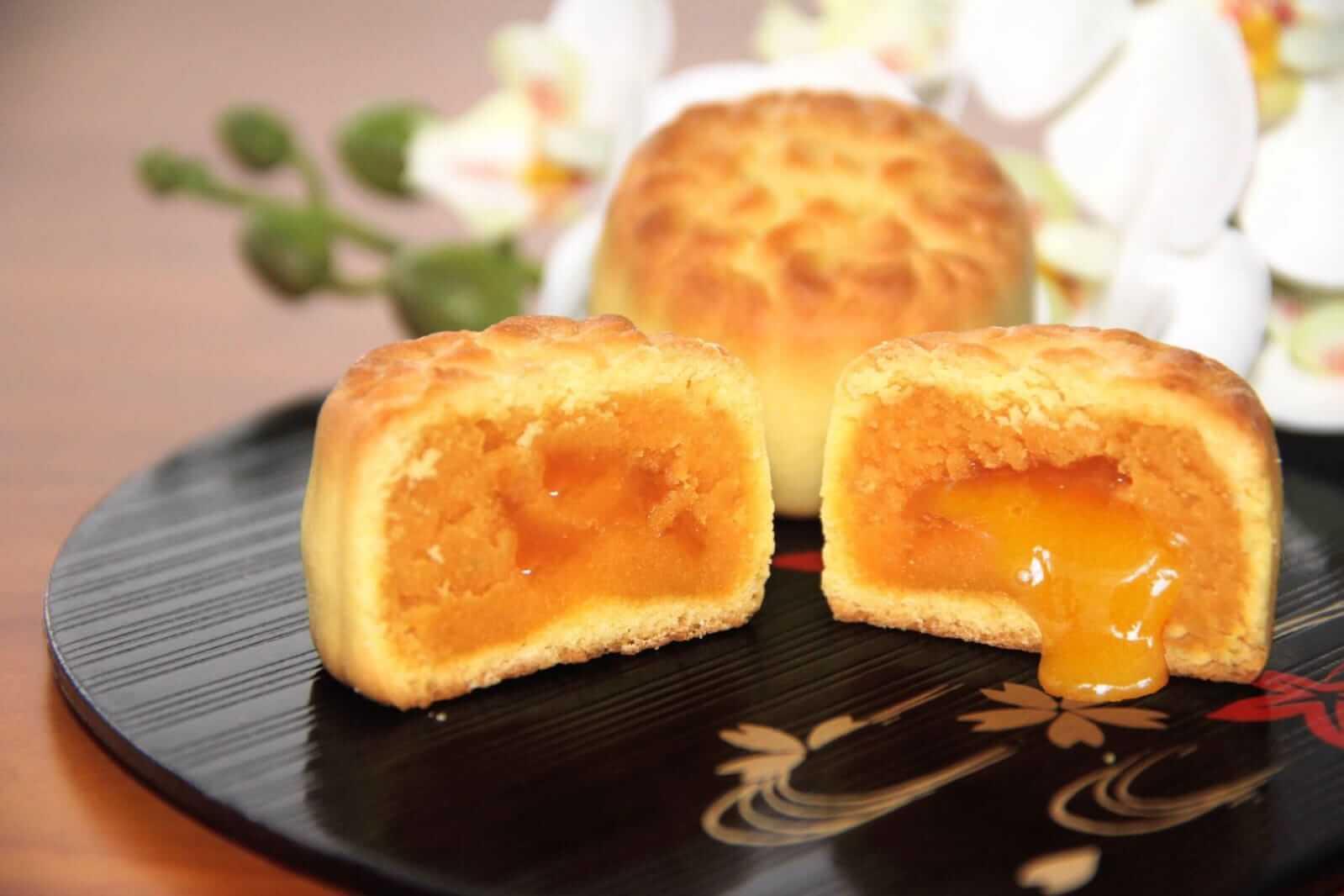奶黃流心月餅。