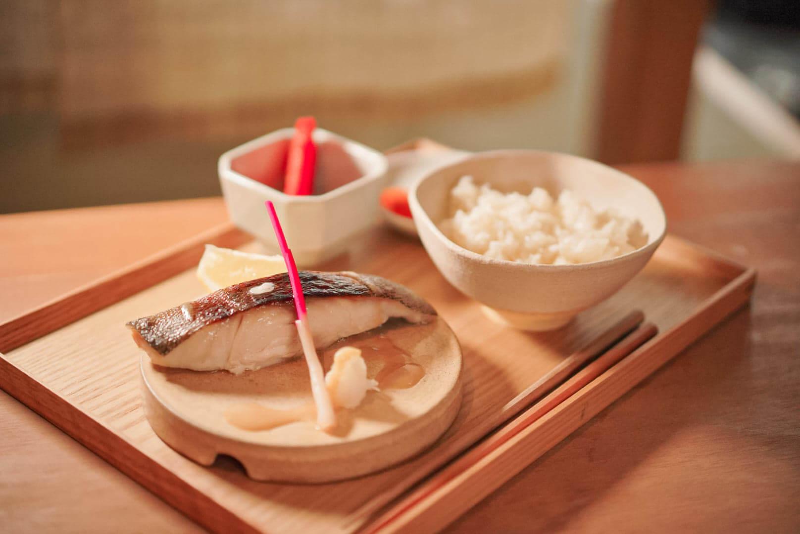 高質嘅烤銀雪魚,唔似出面成日食到般,有陣難受嘅雪味,食材相當新鮮講究。