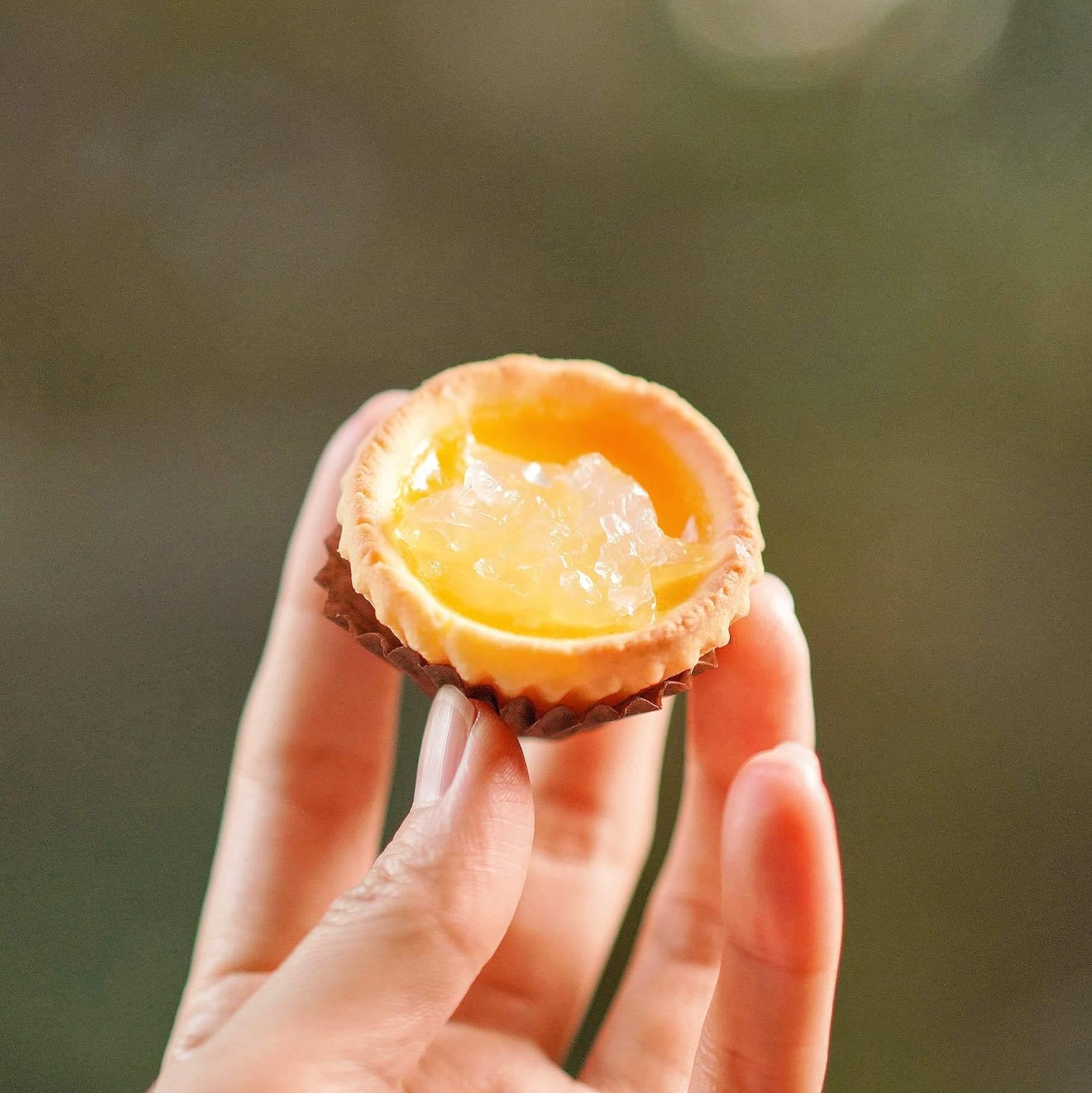 焗燕窩蛋撻