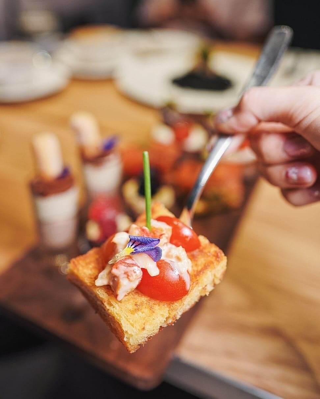 香辣波士頓龍蝦法式多士