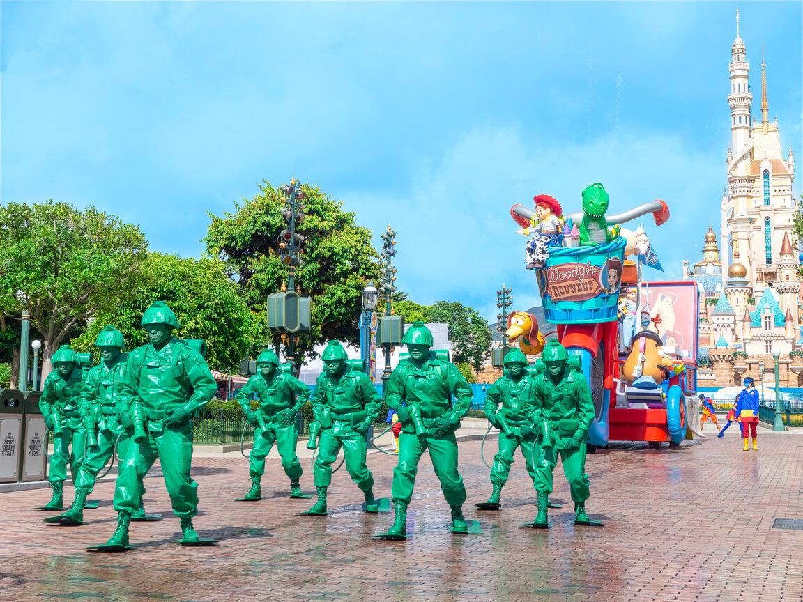 反斗奇兵Toy Story綠色士兵出場!