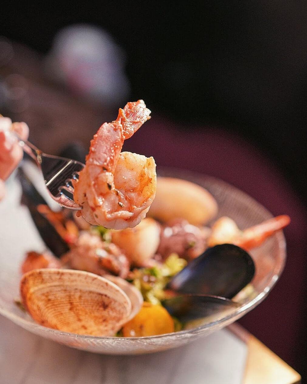 海鮮非常足料,大蝦啖啖肉!