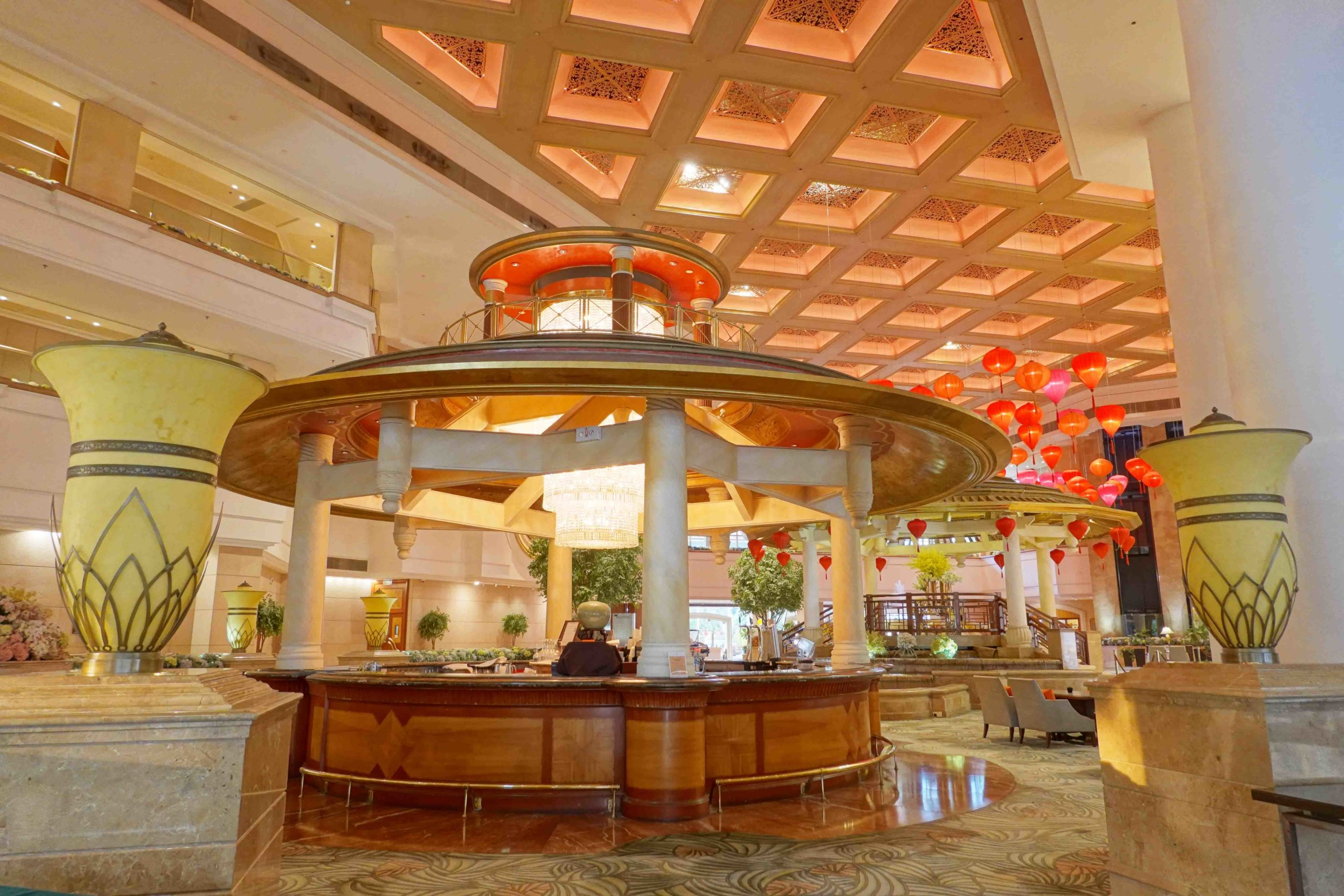 小編較早期去試食,所以可在Lobby Lounge享用下午茶,由於配合政府防疫政策,現時實際用餐點可能有所更改。