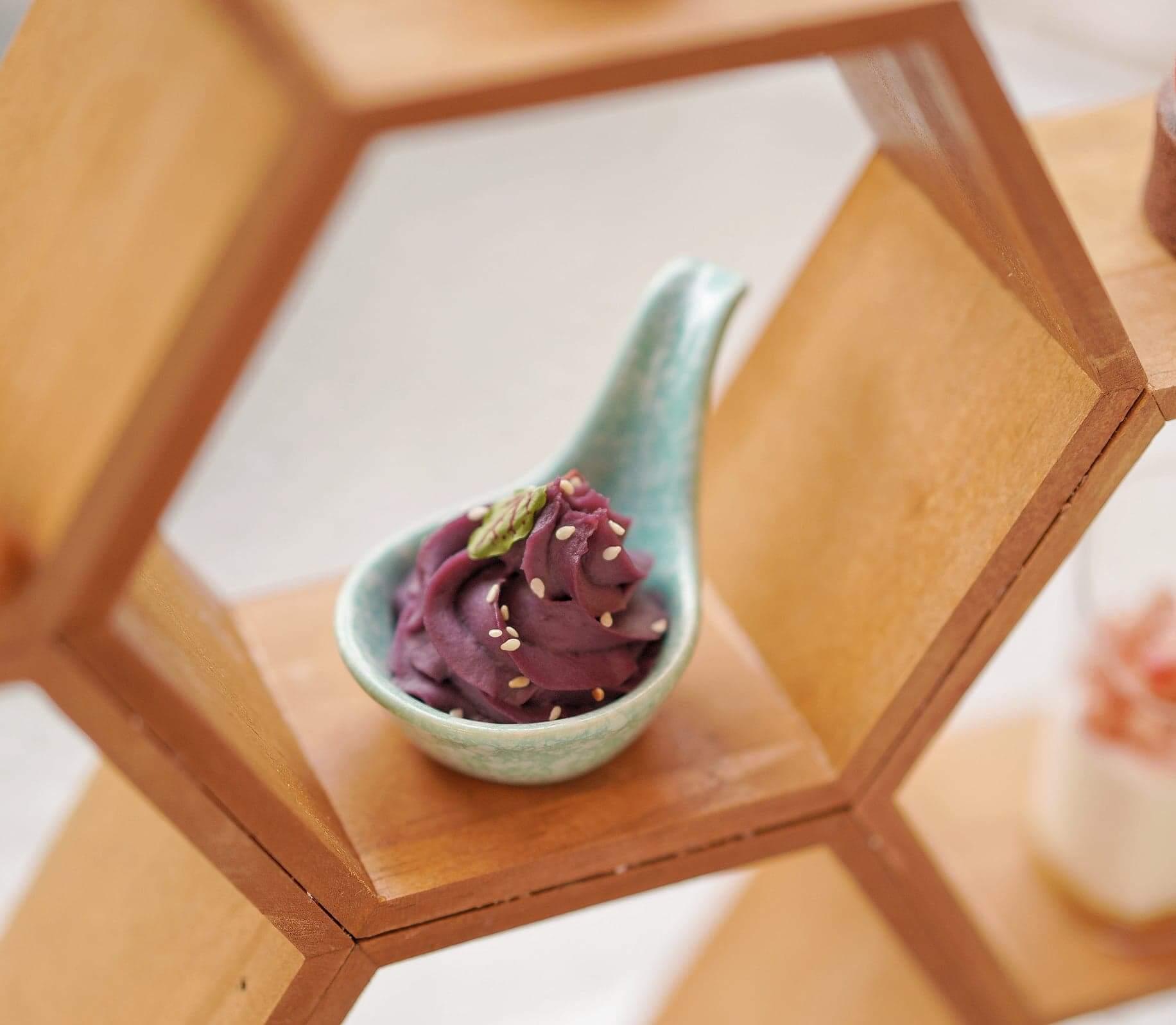蜜糖焗迷你紫薯