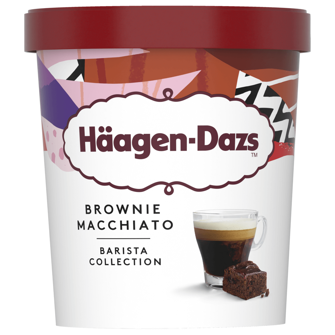 Häagen-Dazs™朱古力蛋糕咖啡雪糕 HK$30