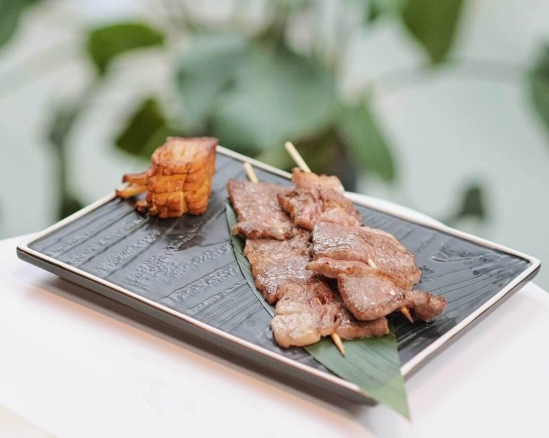 熊本A4和牛串燒(西冷,肉眼)HK$188