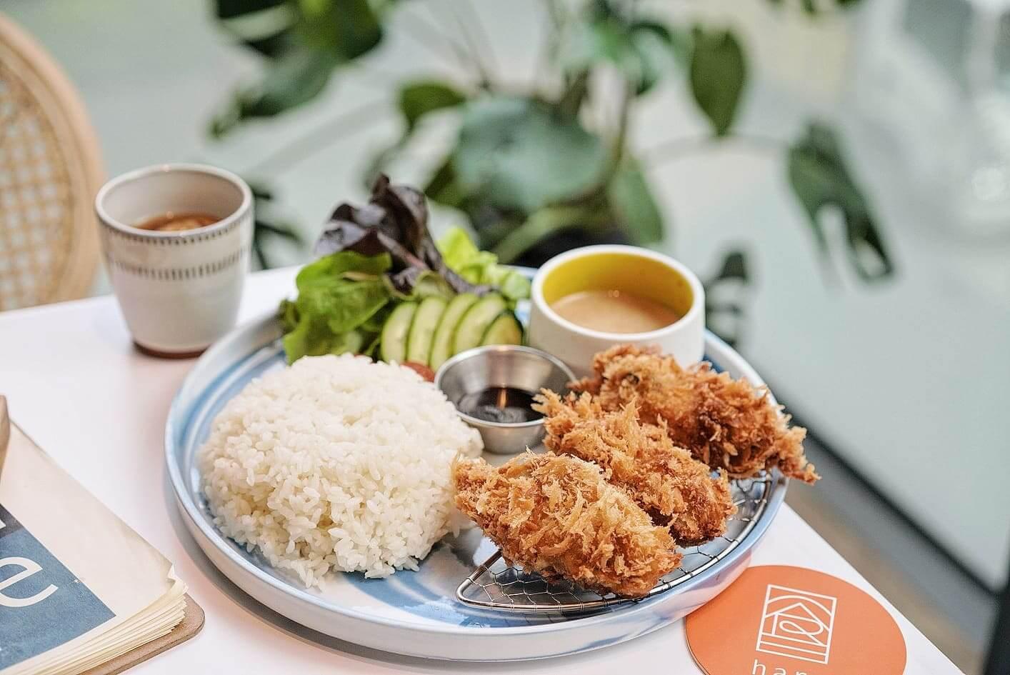 吉列廣島蠔定食 HK$88