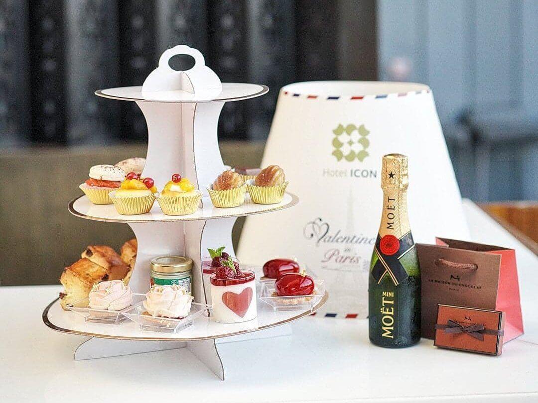 「巴黎之約」浪漫外賣下午茶