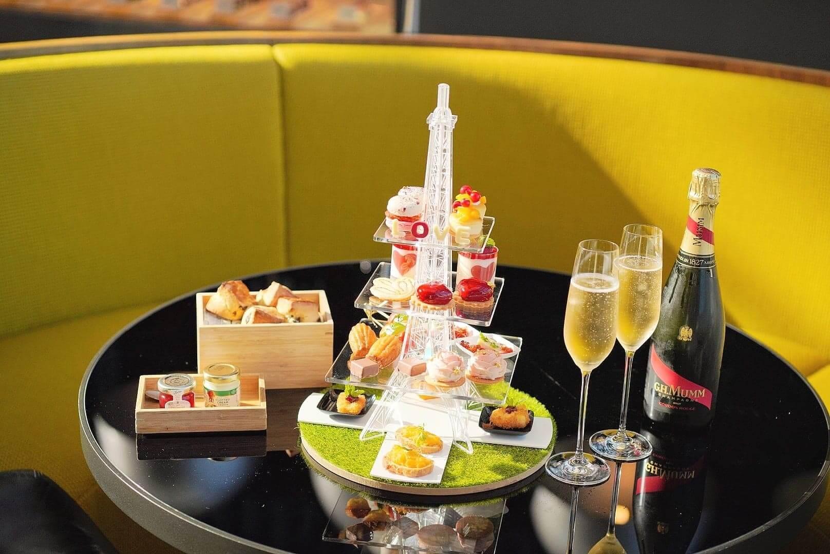 GREEN喺今年情人節,推出限定嘅「巴黎之約」下午茶!