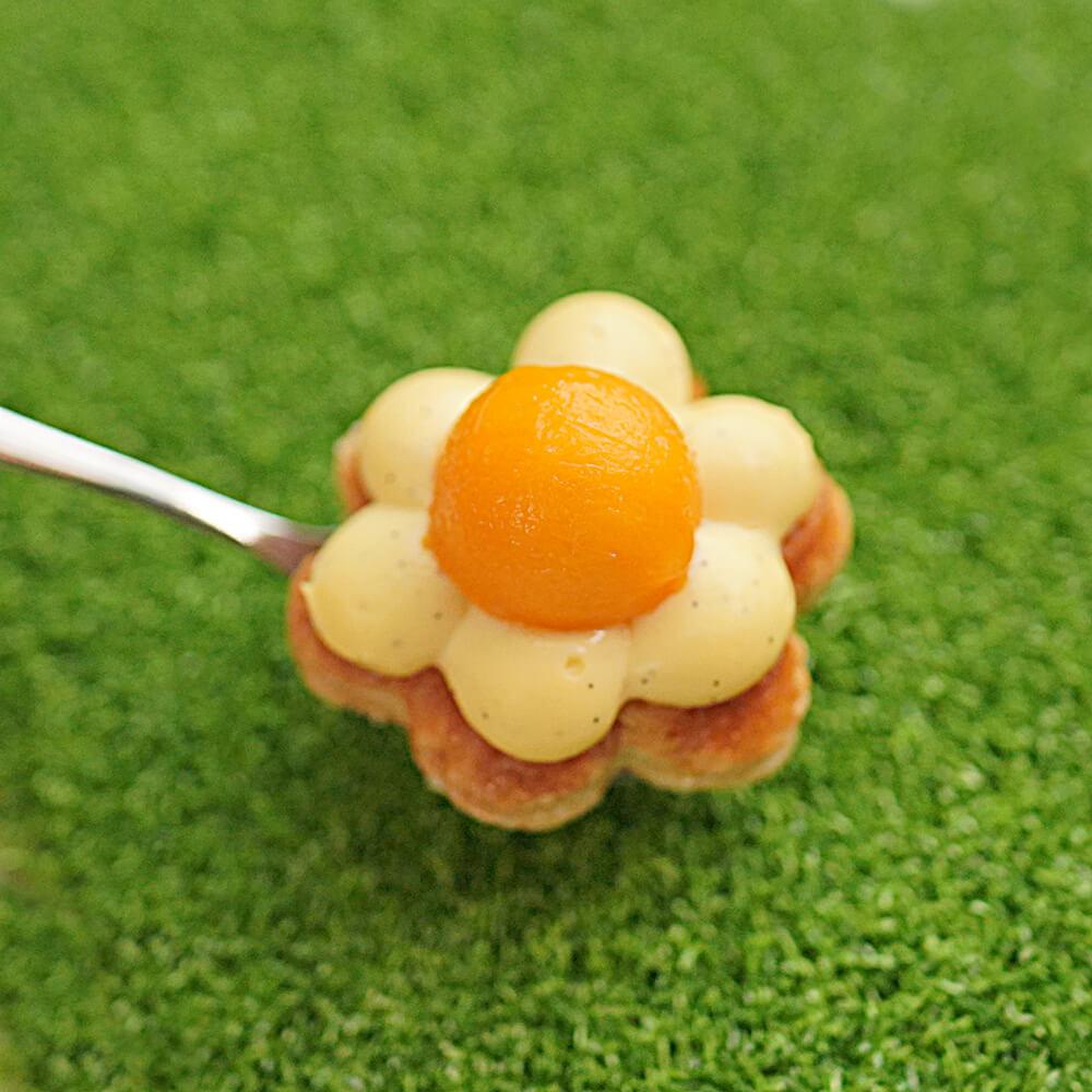 法式花形千層酥。