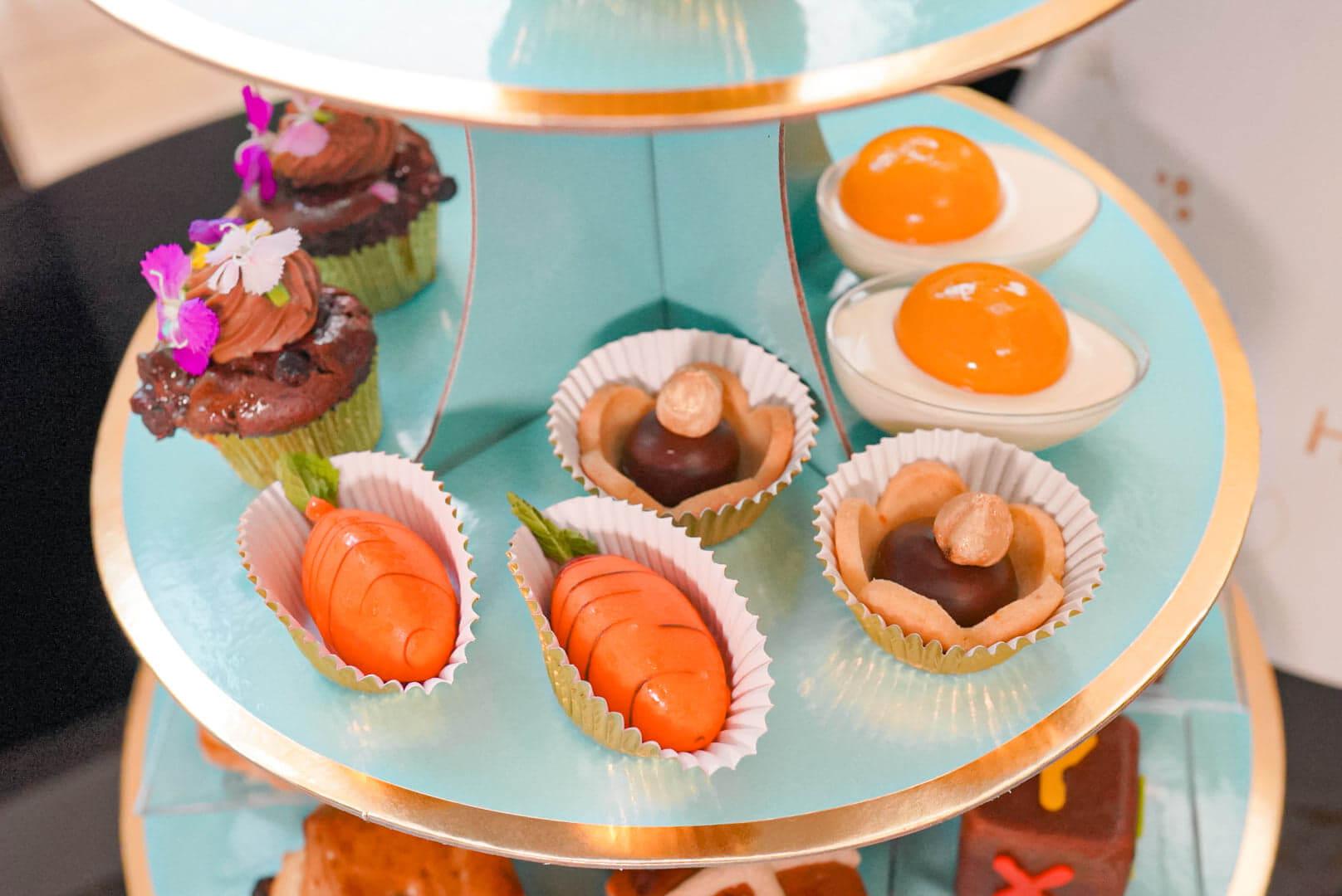 外賣版同樣可嘗到多款精緻鹹甜美點。