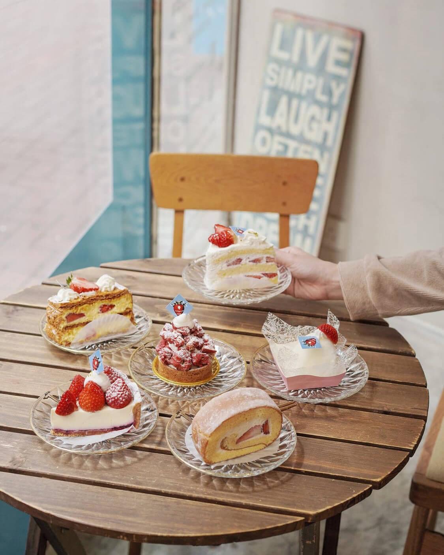 CAFE LIFE新推出一系列由「佐賀莓小姐」(Ichigosan)製成的蛋糕,莓迷們不可錯過!