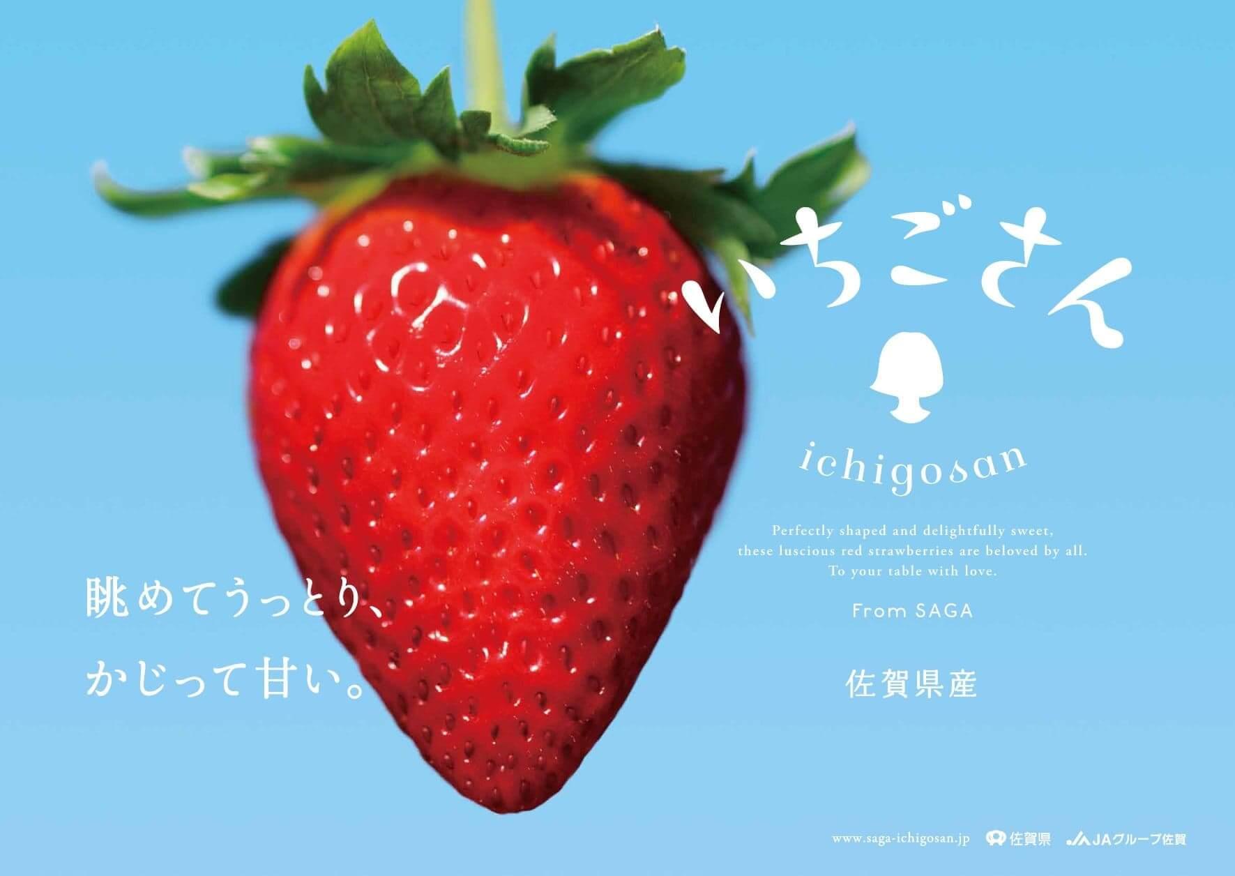官方形容「佐賀莓小姐」是散發自信魅力的少女,因為相比其他草莓,她擁有濃而不膩,特別清新口感,恰當好處的酸甜度,就像正值花樣年華的少女般甜美。