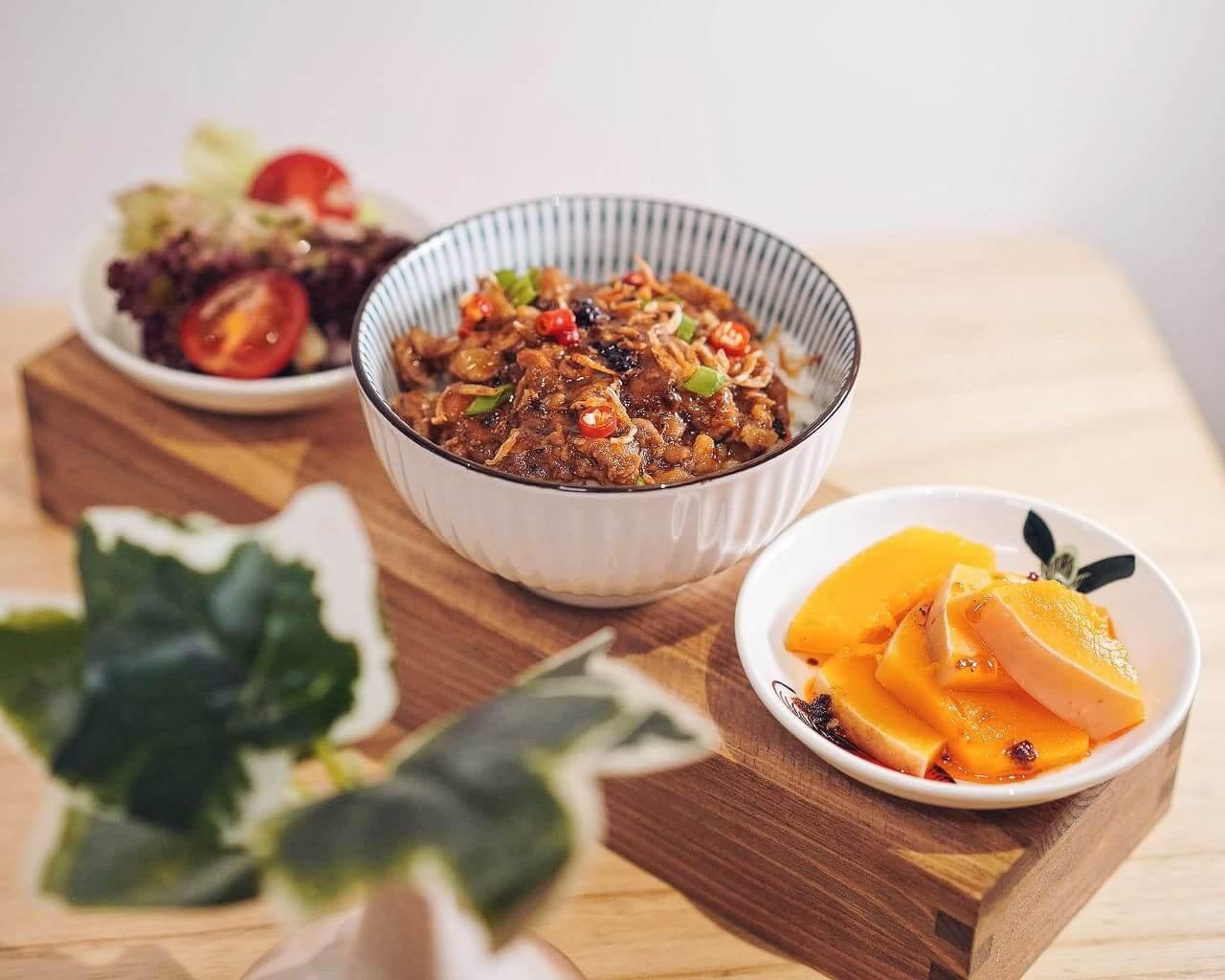 薟薑仔魯肉飯小拼盤 HK$128