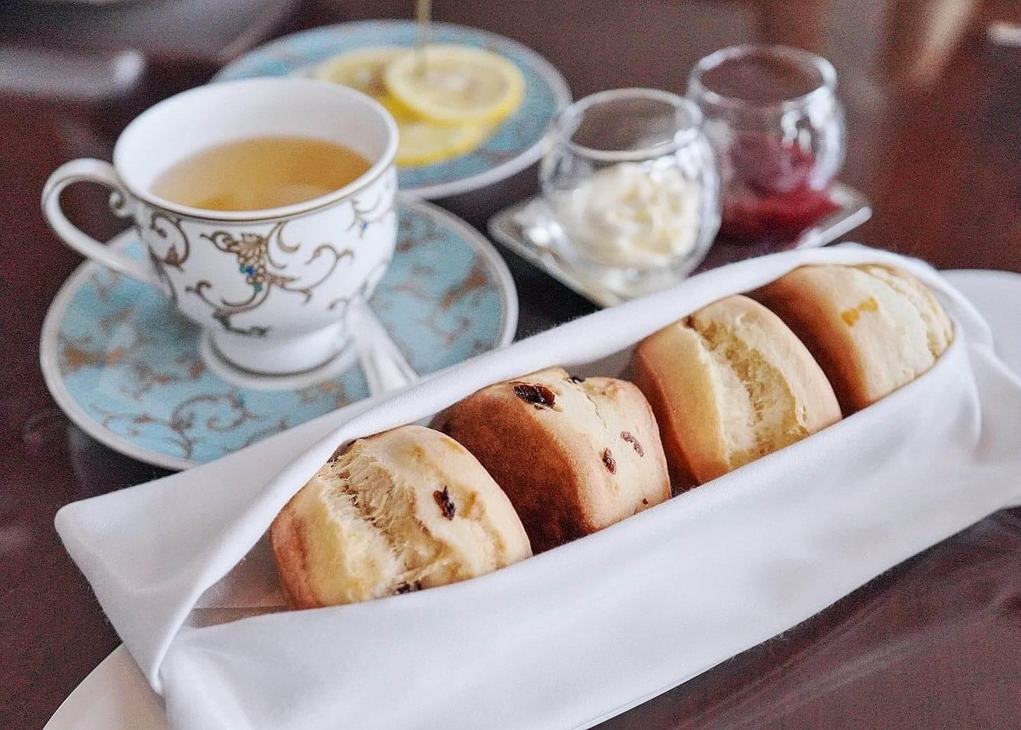 下午茶未到,員工會先送上鬆餅。