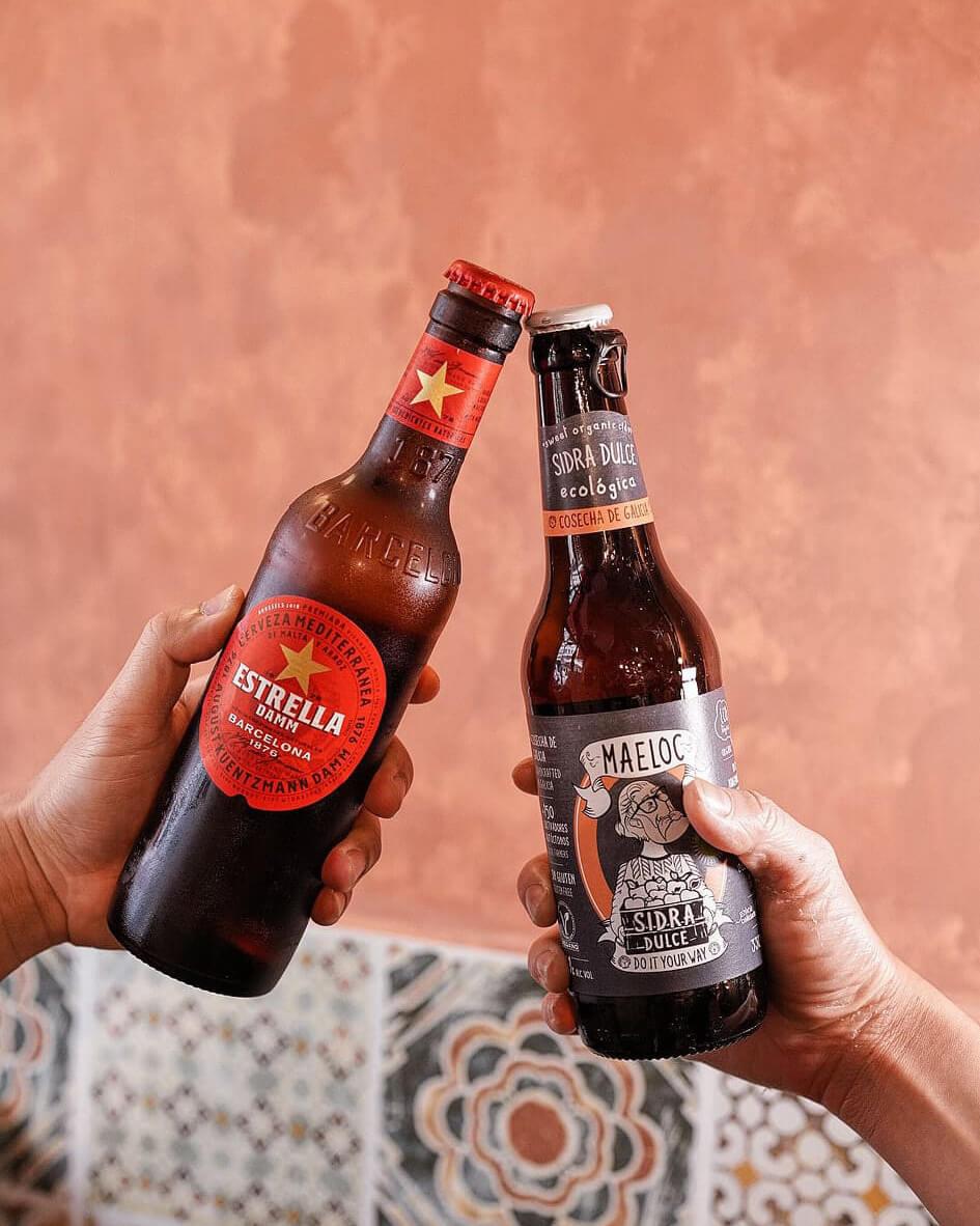 西班牙直送手工啤。