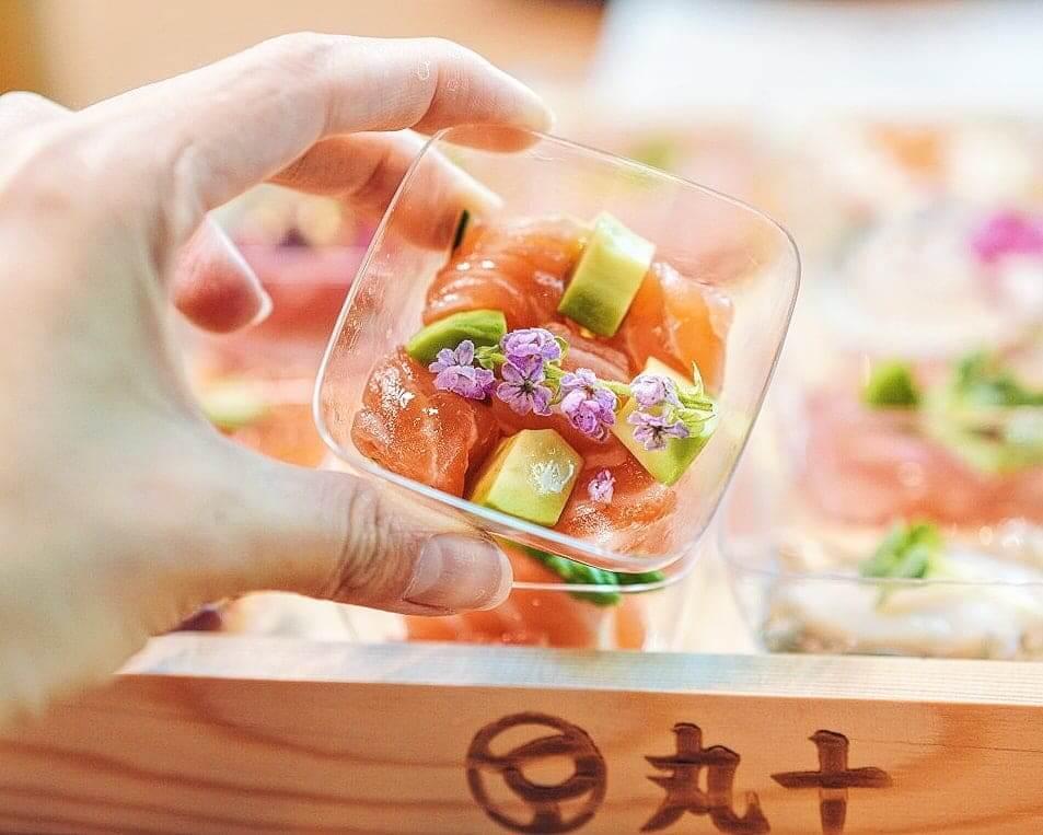 三文魚‧牛油果‧青瓜‧柚子沙律